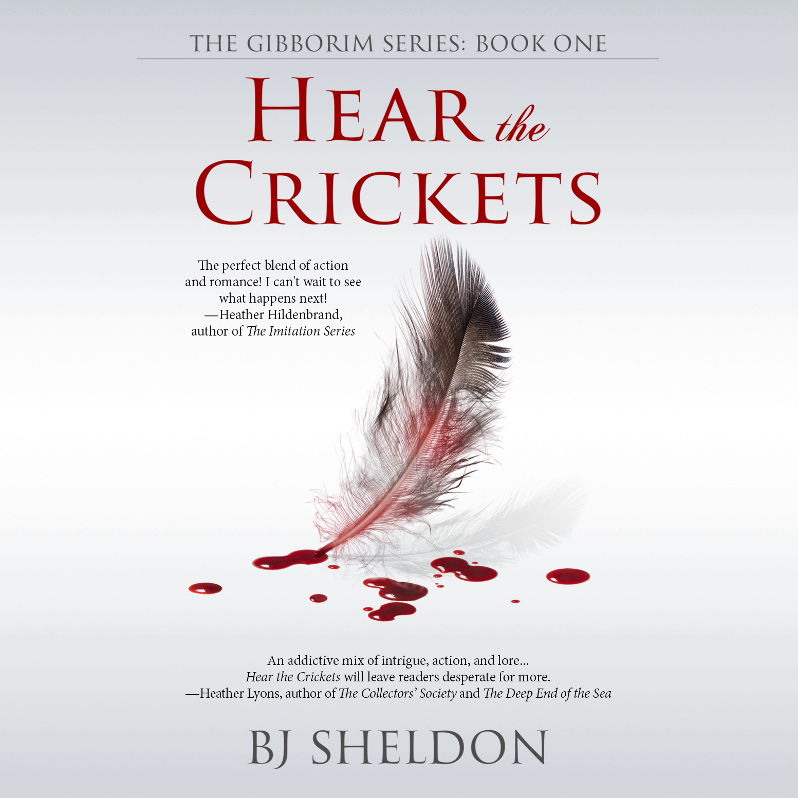 Printable Hear the Crickets Audiobook Cover Art