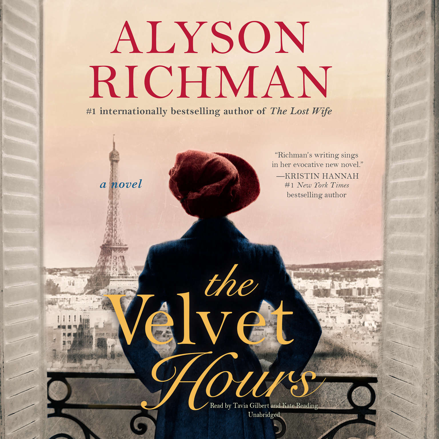 Printable The Velvet Hours Audiobook Cover Art