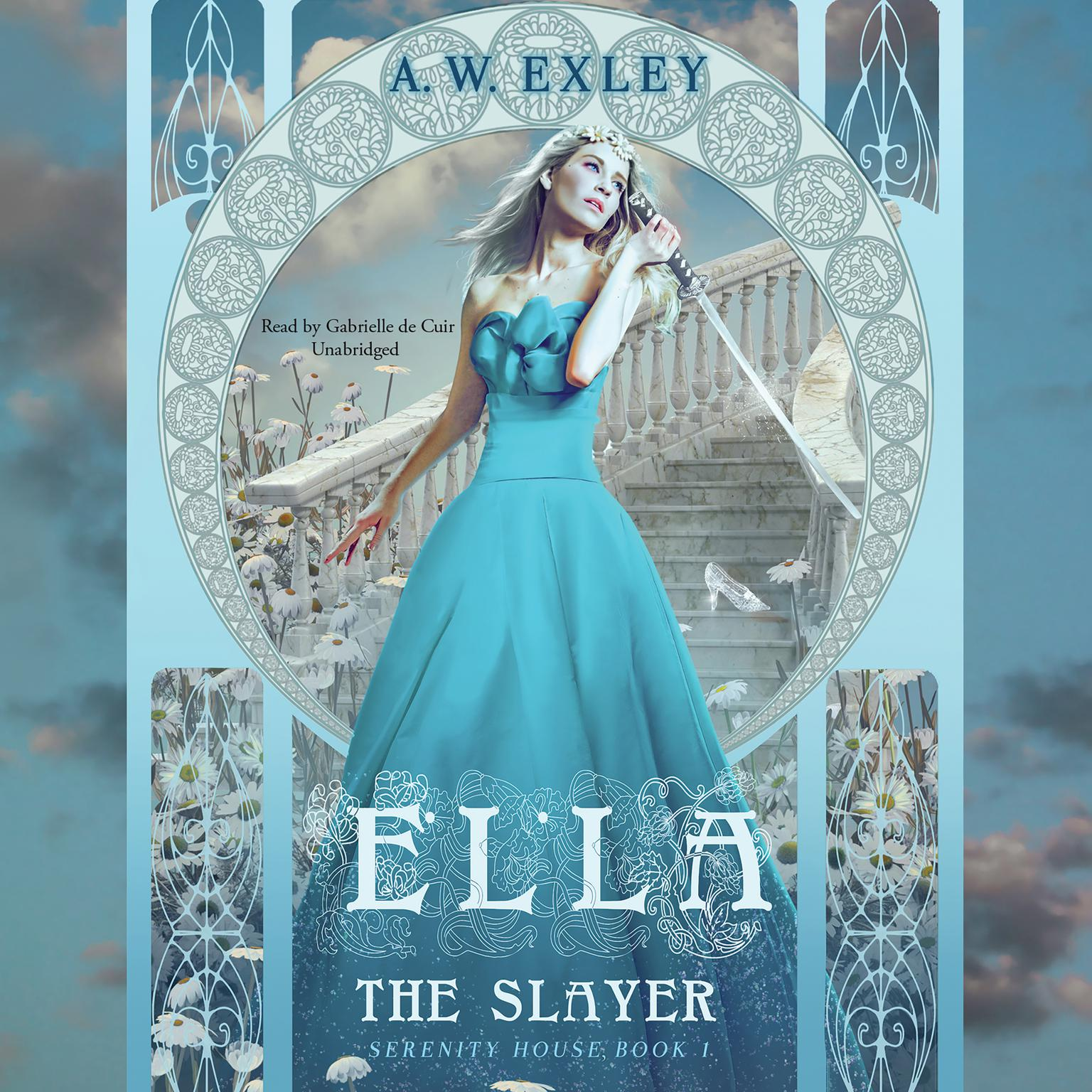 Printable Ella, the Slayer: Serenity House, Book 1 Audiobook Cover Art