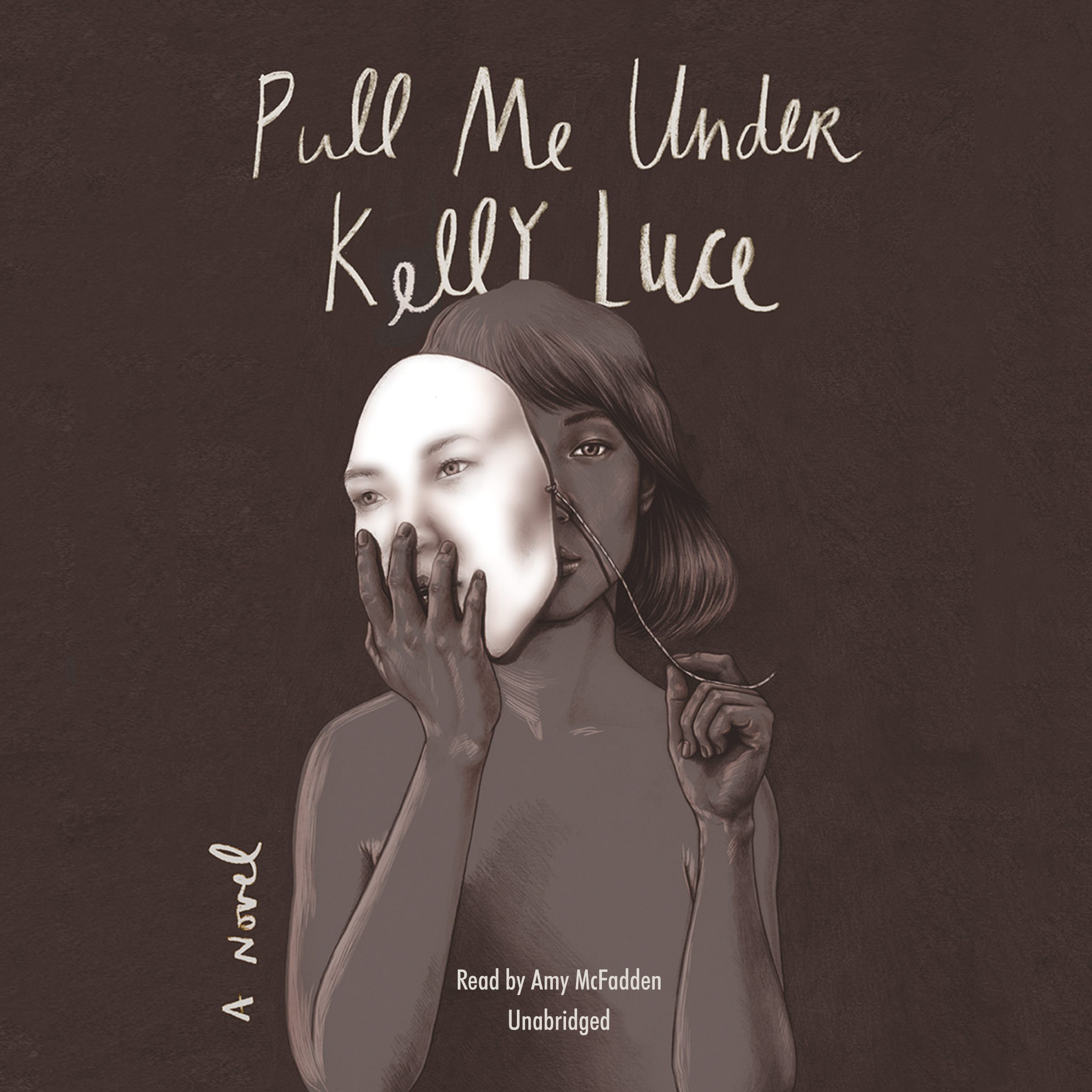 Printable Pull Me Under Audiobook Cover Art