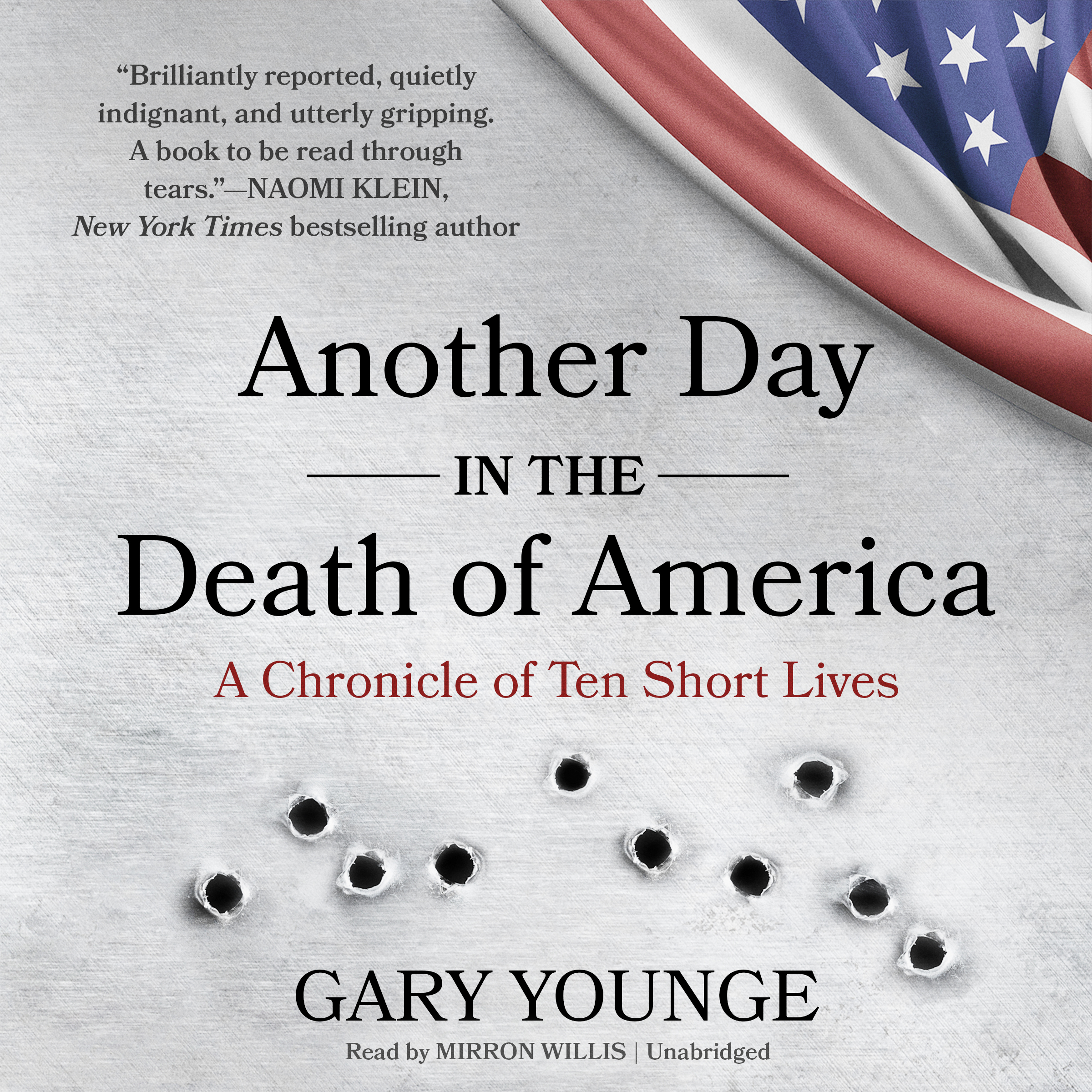 Printable Another Day in the Death of America: A Chronicle of Ten Short Lives Audiobook Cover Art