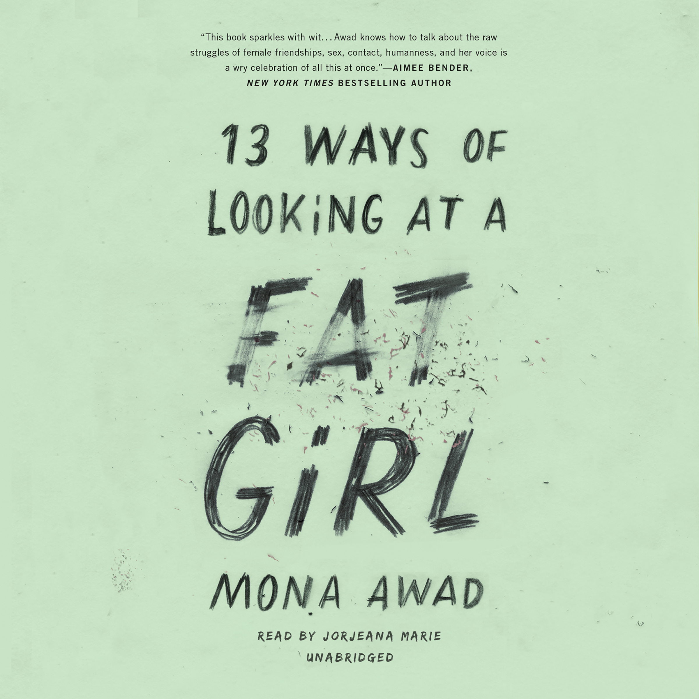 Printable 13 Ways of Looking at a Fat Girl Audiobook Cover Art