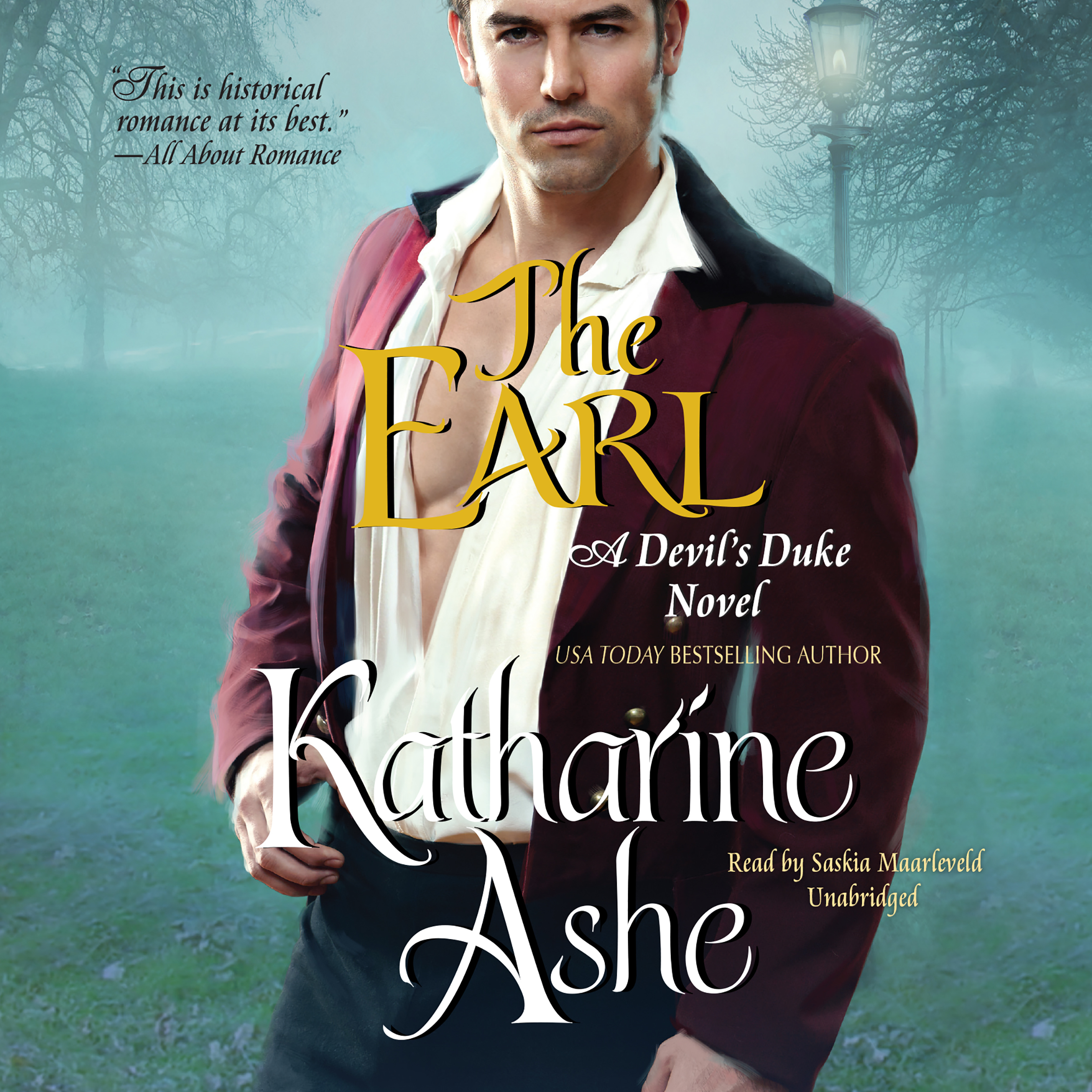 Printable The Earl: A Devil's Duke Novel Audiobook Cover Art