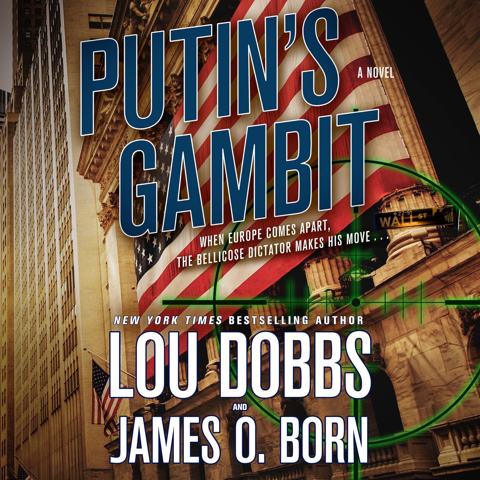 Printable Putin's Gambit: A Novel Audiobook Cover Art