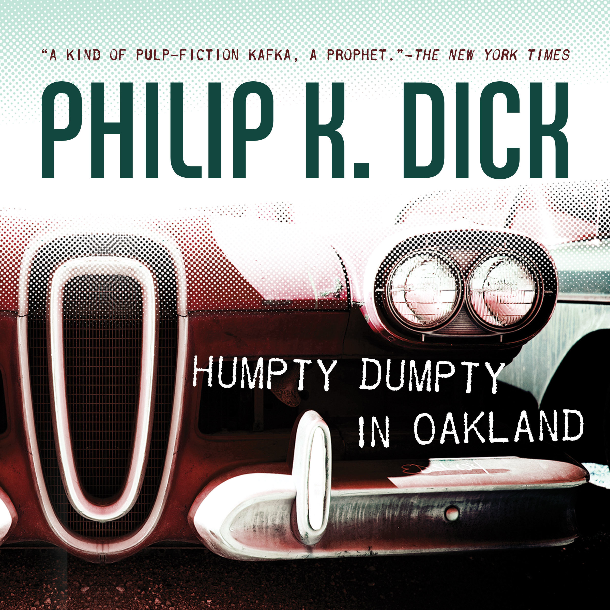 Printable Humpty Dumpty in Oakland Audiobook Cover Art