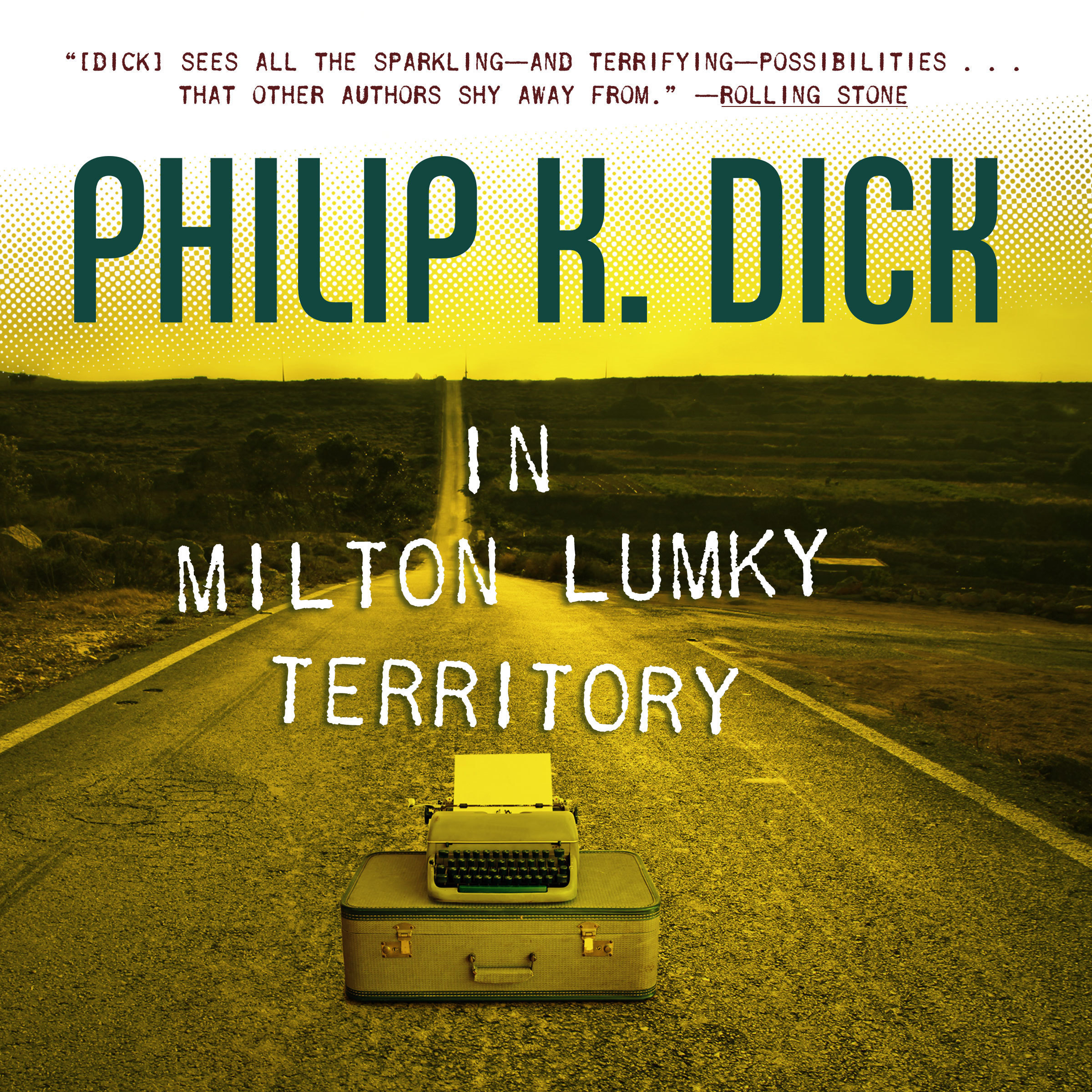 Printable In Milton Lumky Territory Audiobook Cover Art