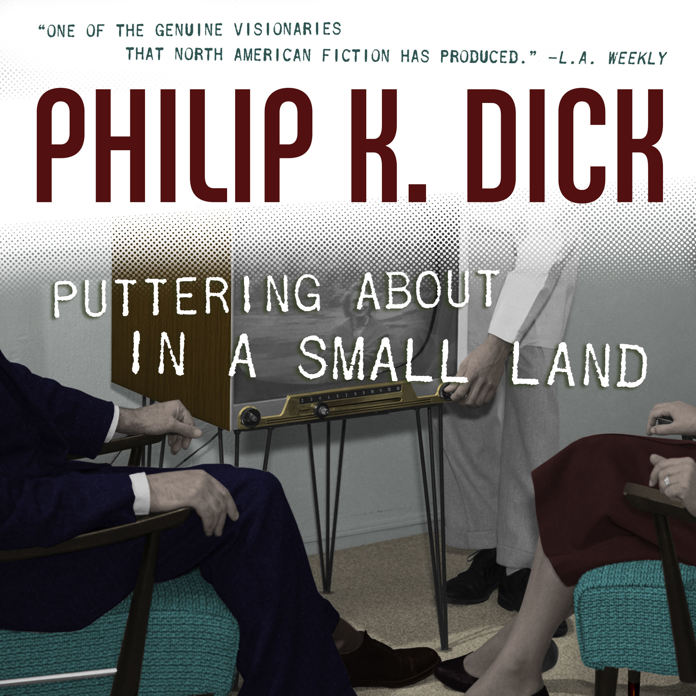 Printable Puttering About in a Small Land Audiobook Cover Art