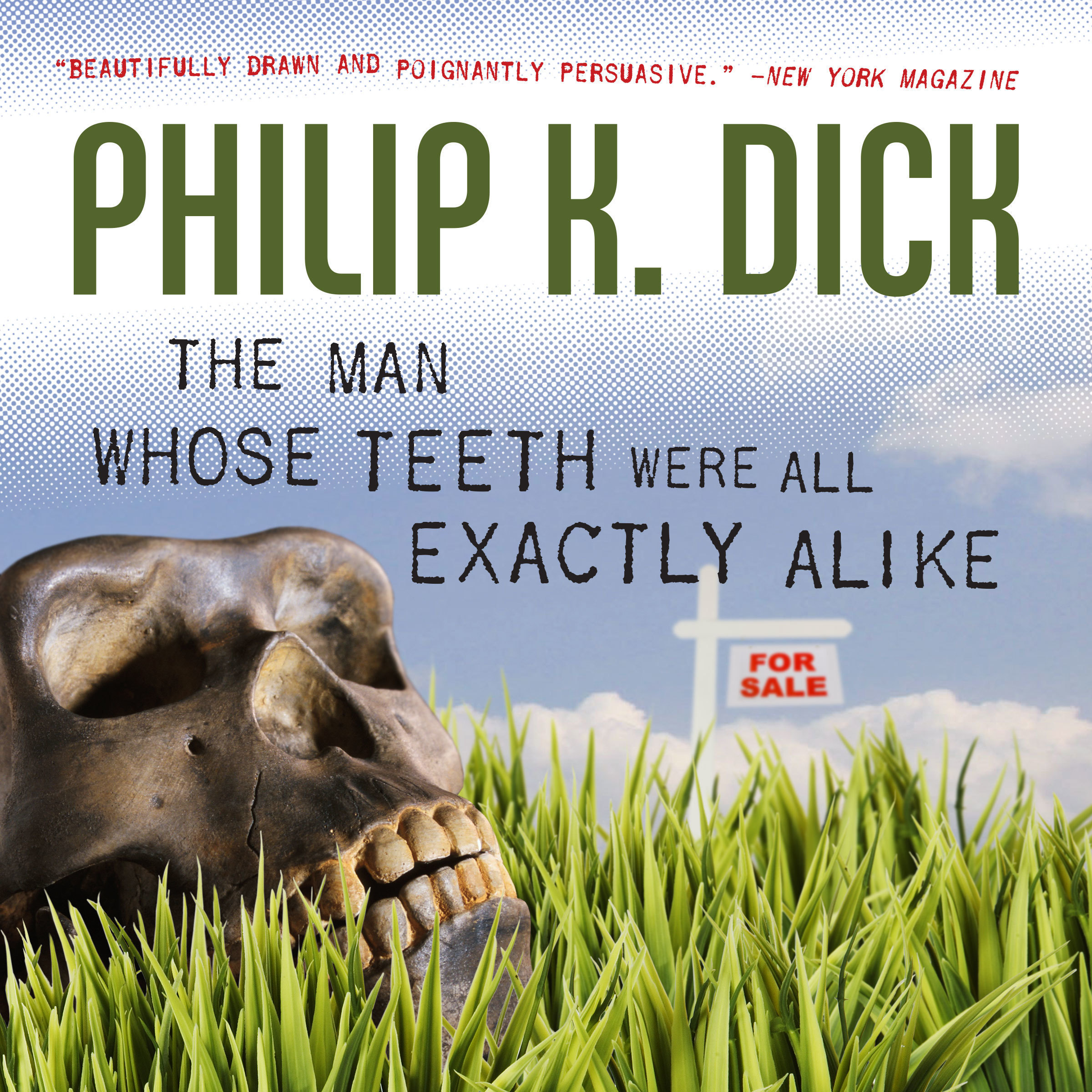 Printable The Man Whose Teeth Were All Exactly Alike Audiobook Cover Art