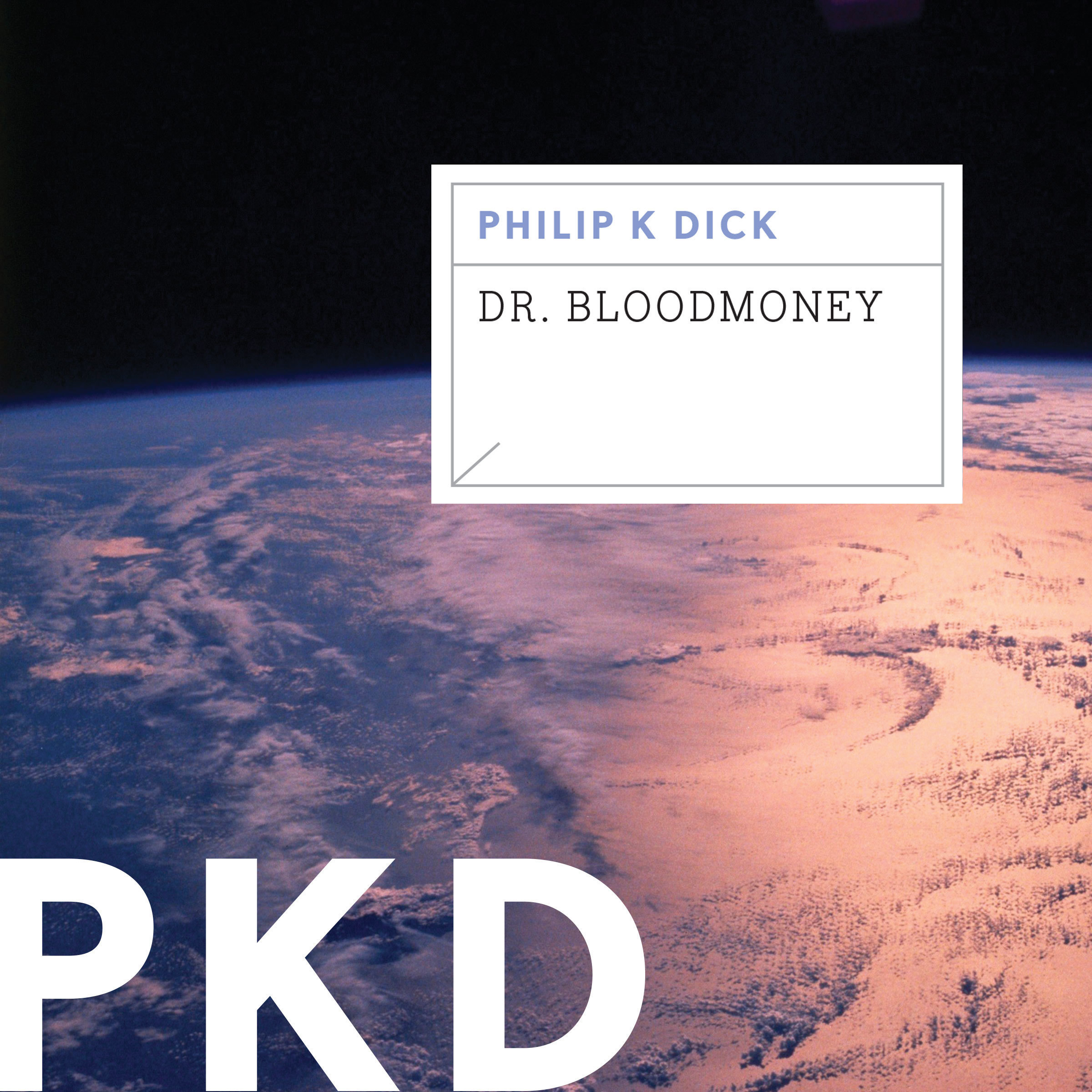 Printable Dr. Bloodmoney Audiobook Cover Art