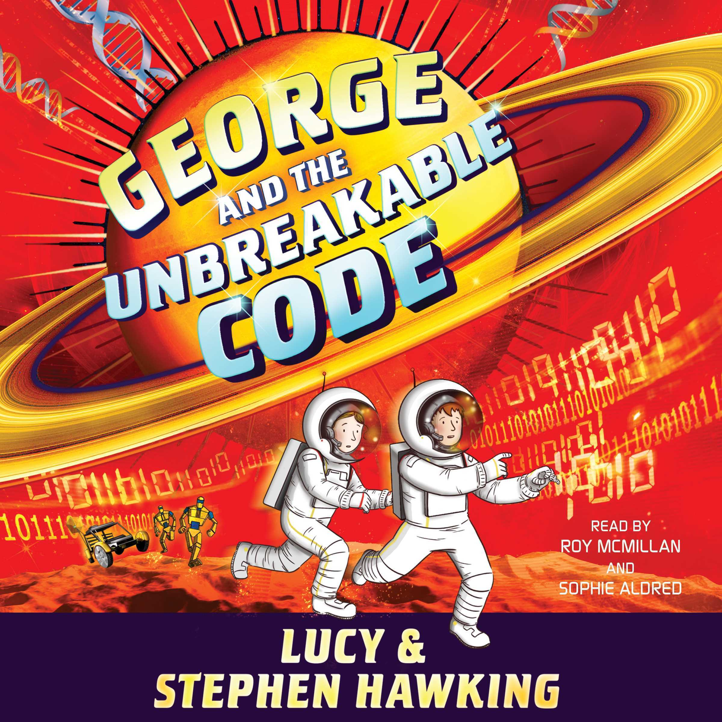 Printable George and the Unbreakable Code Audiobook Cover Art