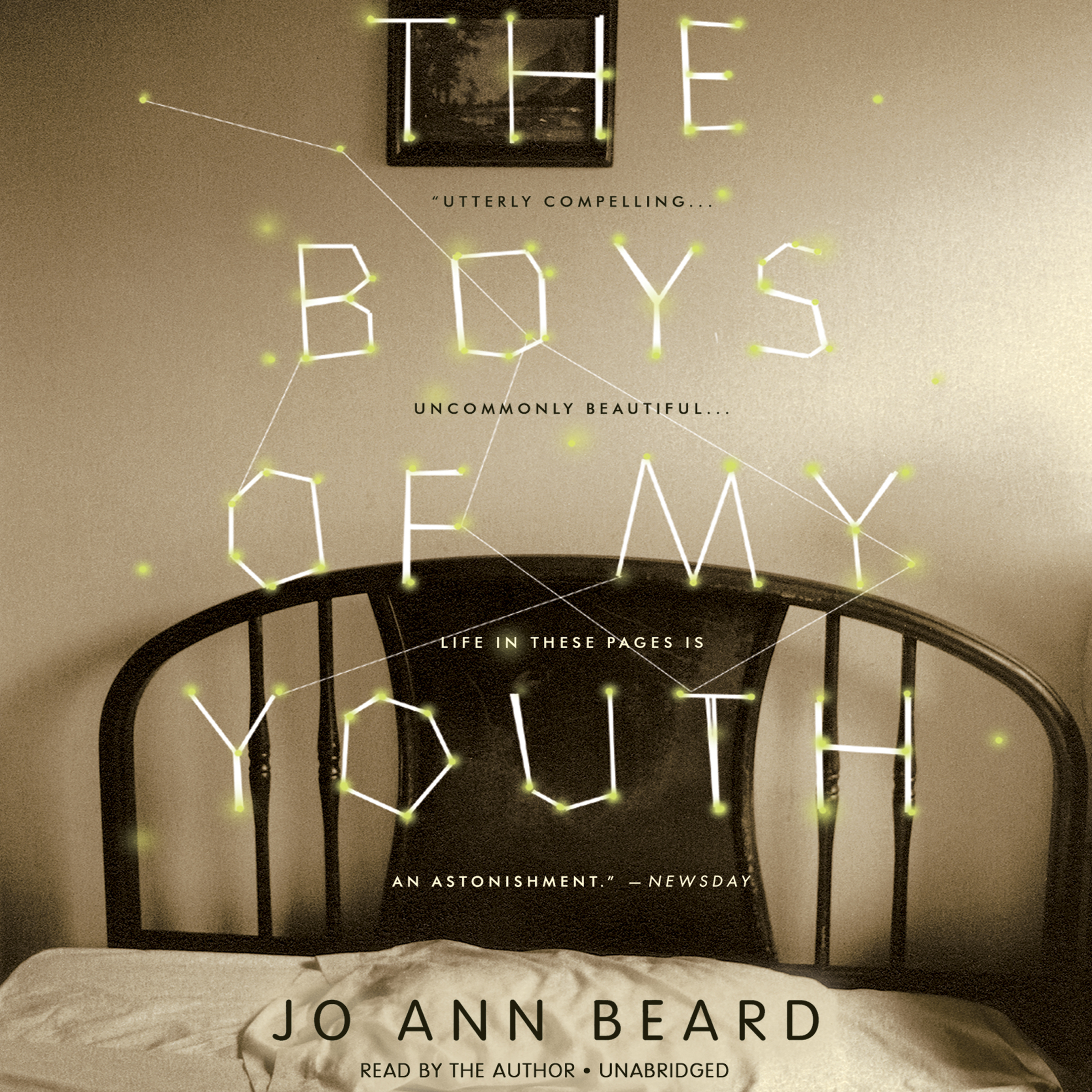 Printable The Boys of My Youth Audiobook Cover Art