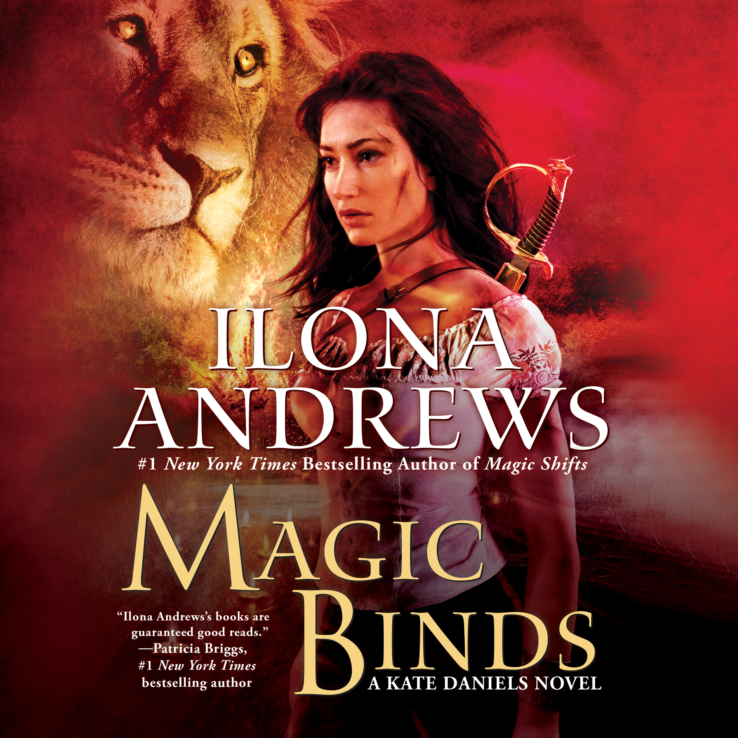Printable Magic Binds Audiobook Cover Art