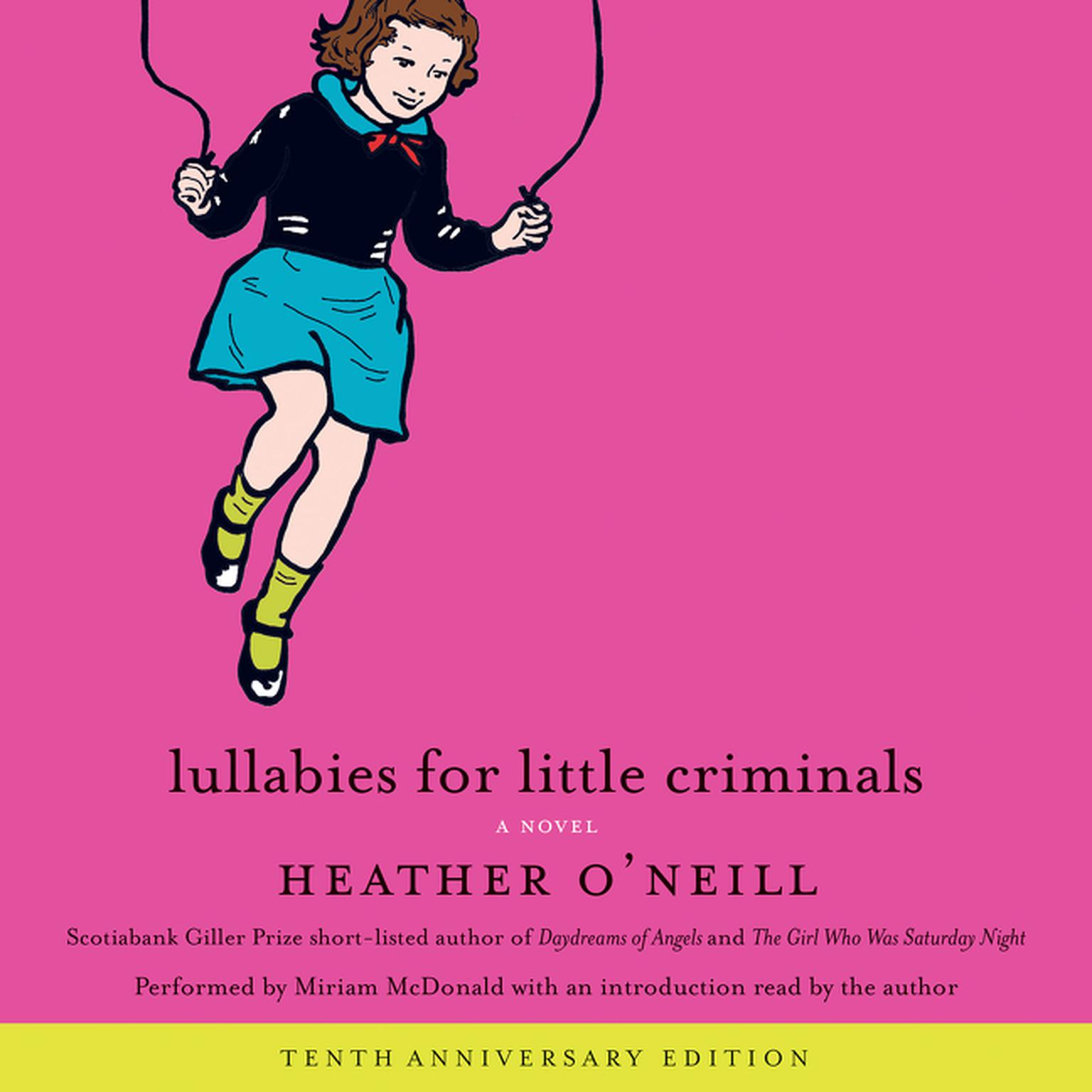 Printable Lullabies for Little Criminals Audiobook Cover Art