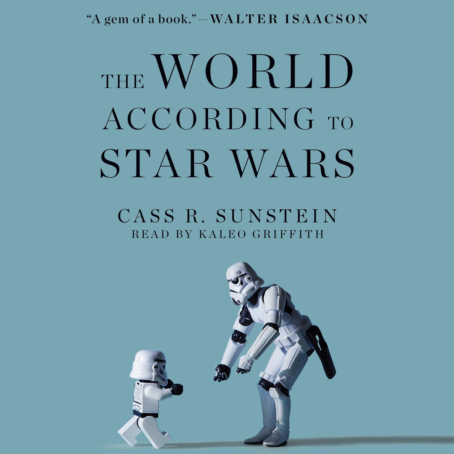 Printable The World according to Star Wars Audiobook Cover Art