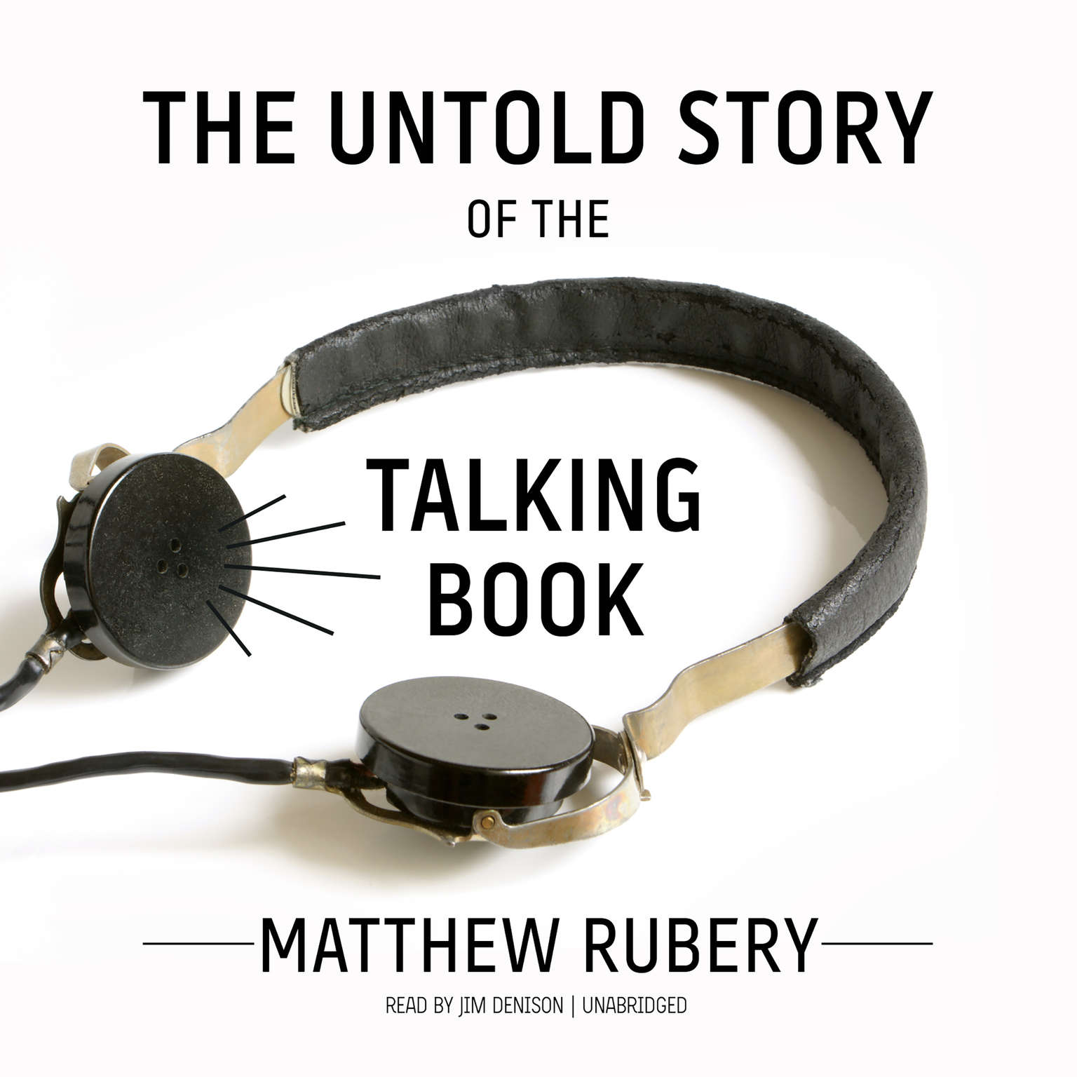 Printable The Untold Story of the Talking Book Audiobook Cover Art