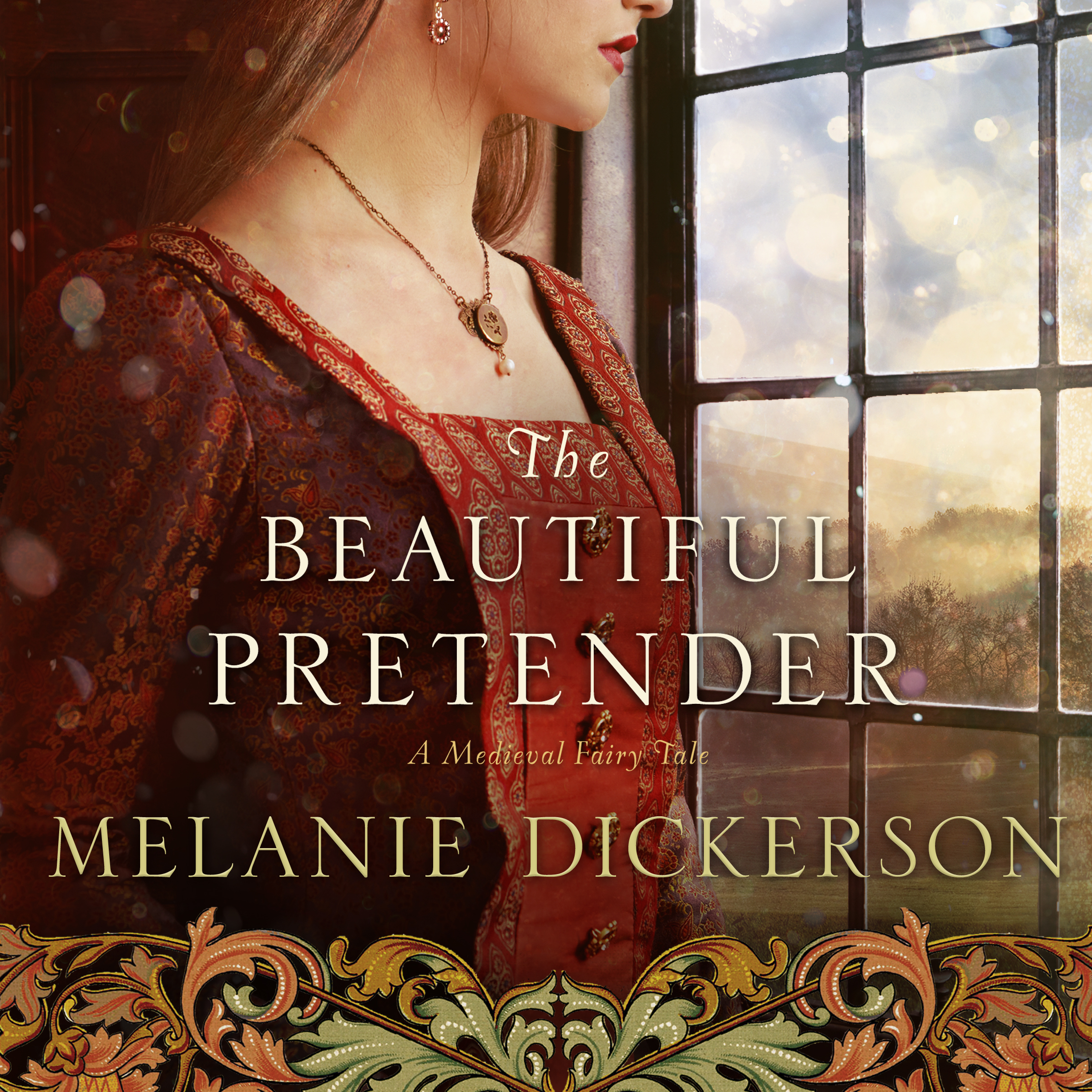 Printable The Beautiful Pretender Audiobook Cover Art