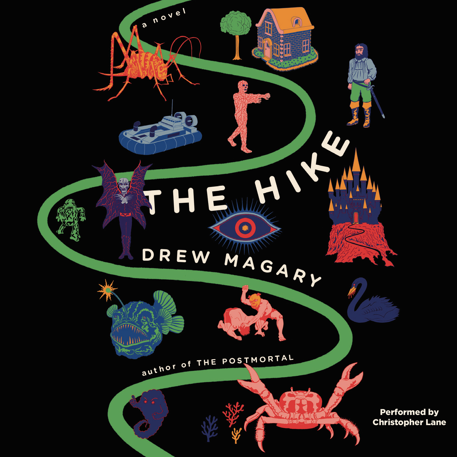 Printable The Hike Audiobook Cover Art