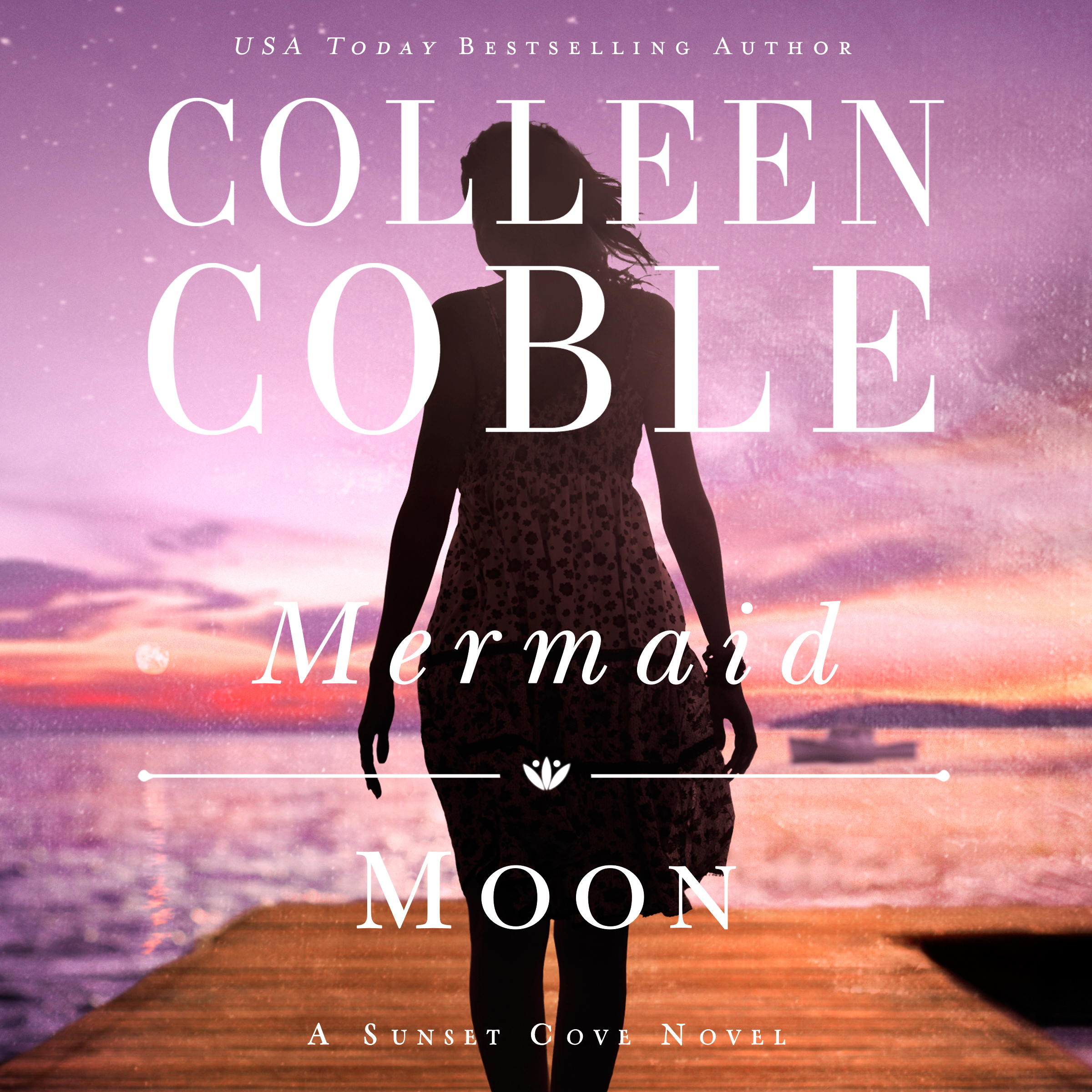 Printable Mermaid Moon Audiobook Cover Art