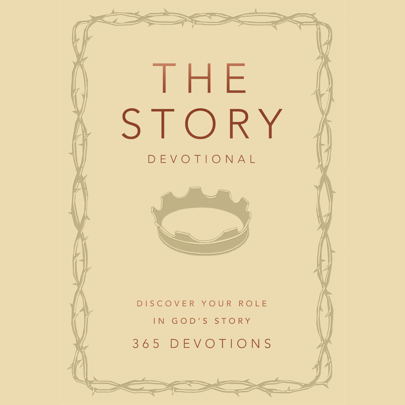 Printable The Story Devotional: Discover Your Role in God's Story Audiobook Cover Art