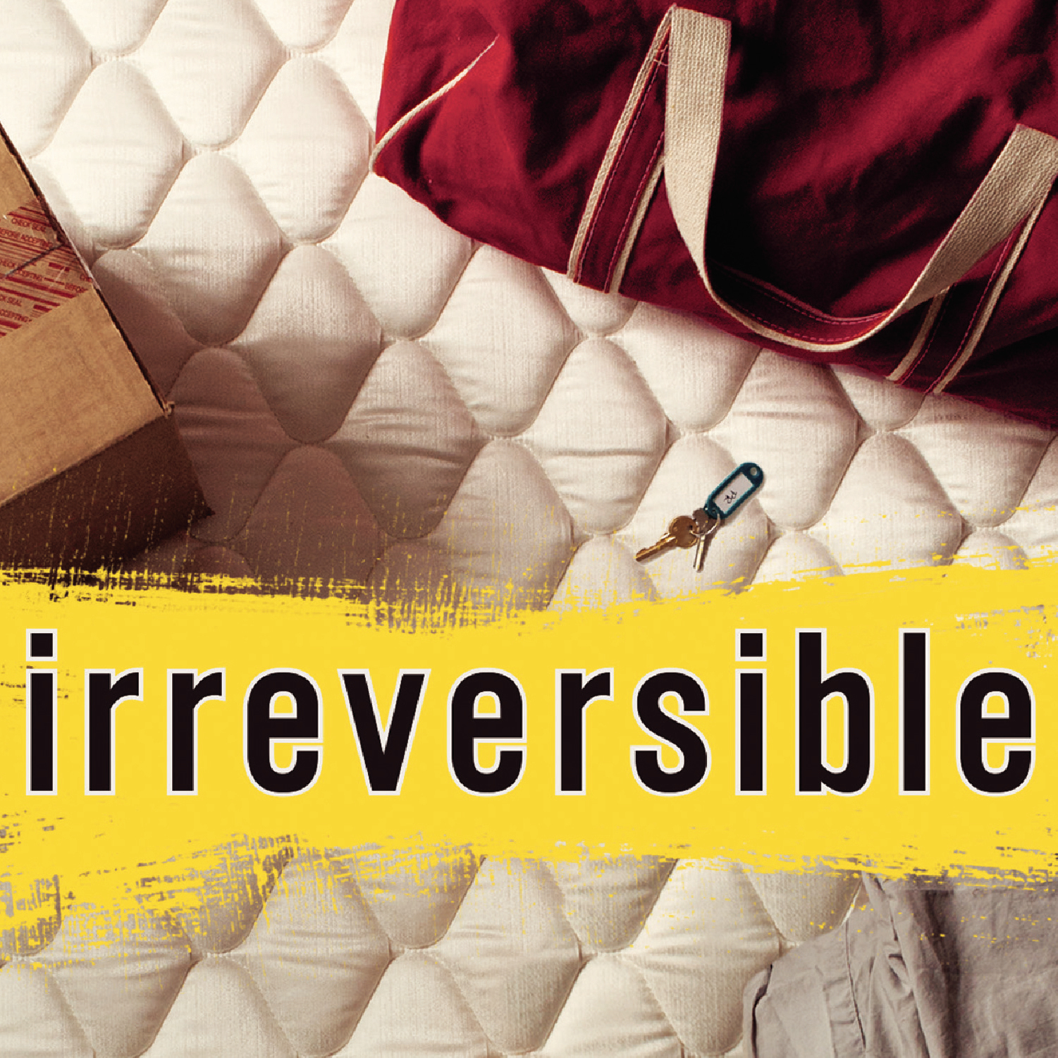 Printable Irreversible Audiobook Cover Art