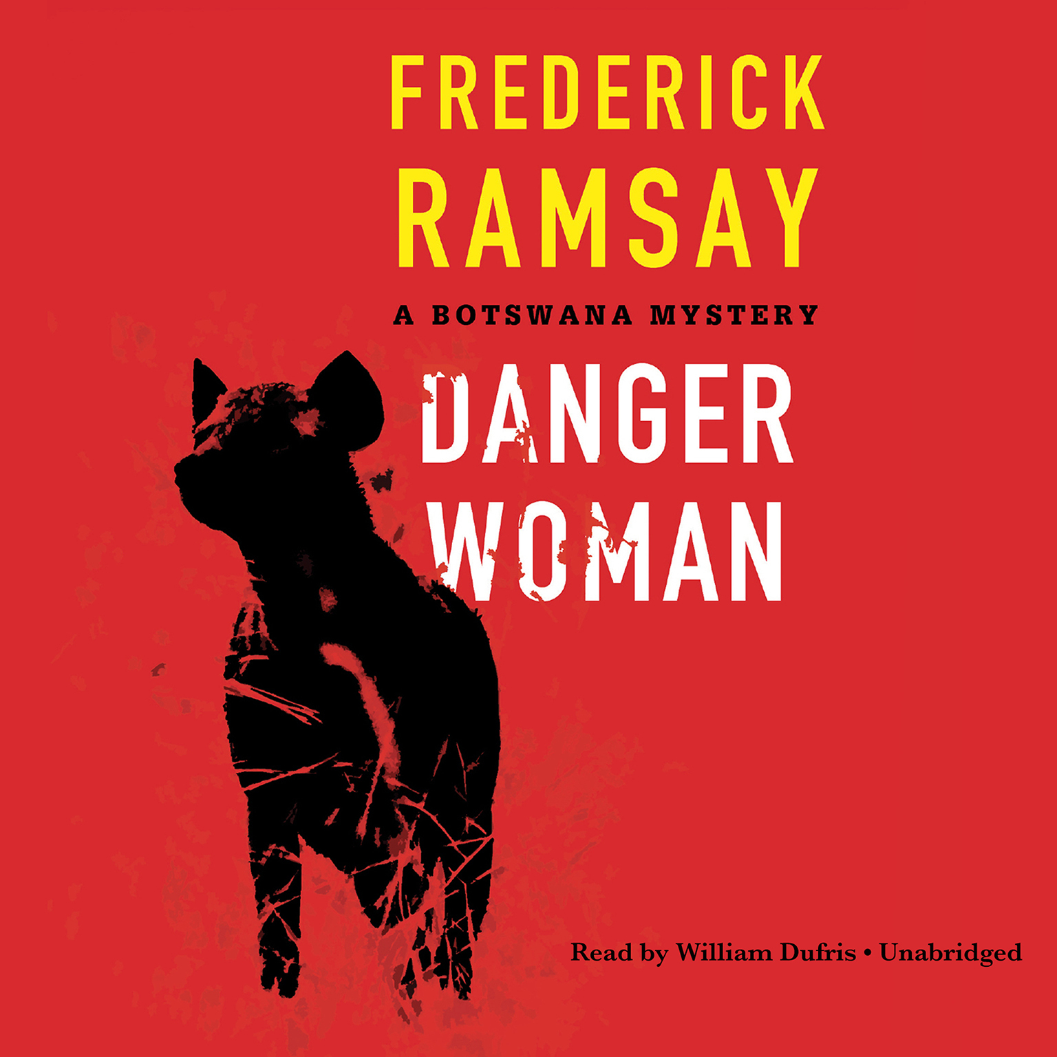 Printable Danger Woman: A Botswana Mystery Audiobook Cover Art