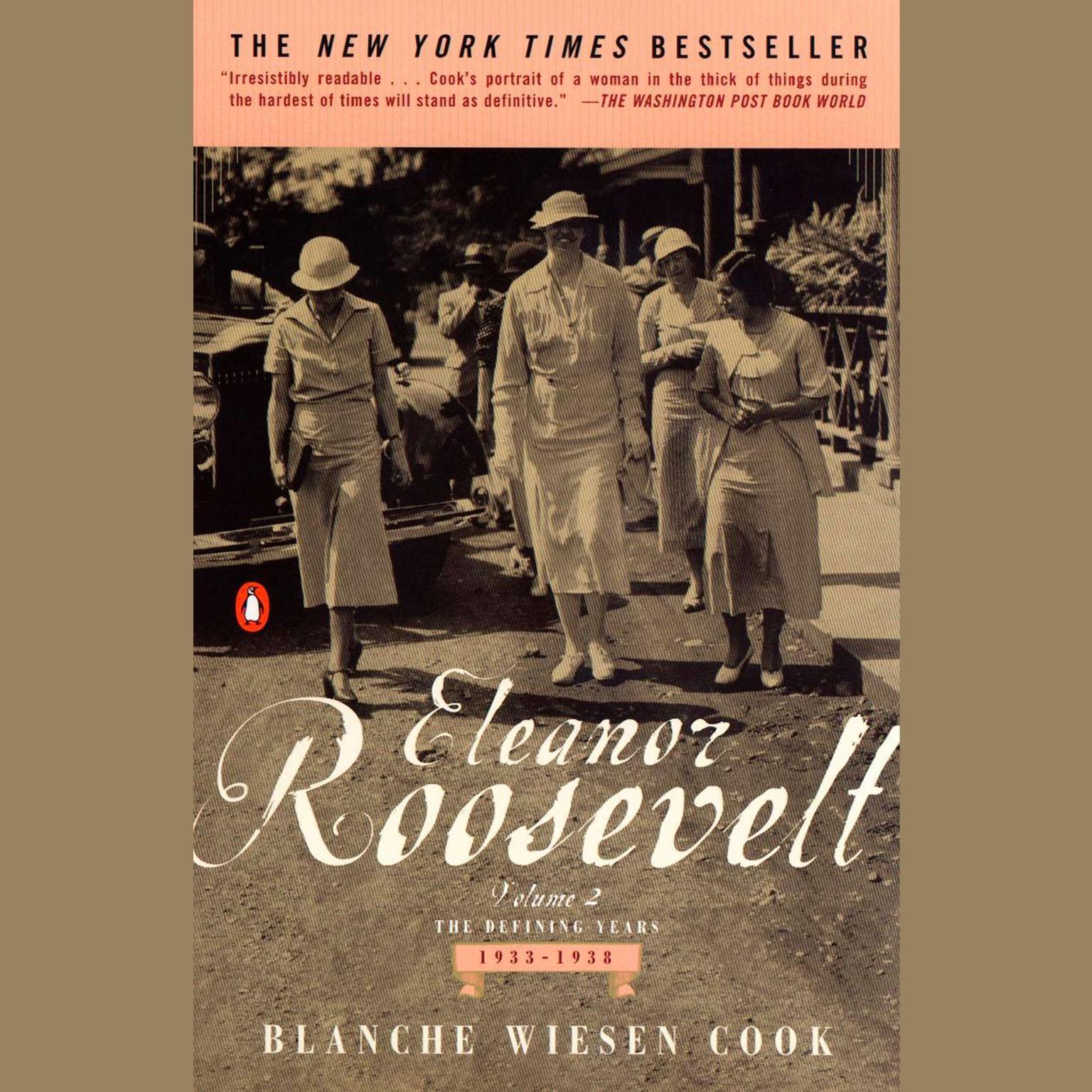 Printable Eleanor Roosevelt: Volume II, The Defining Years, 1933-1938 Audiobook Cover Art
