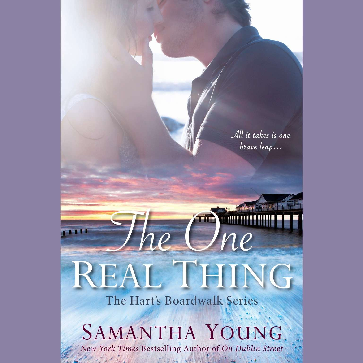 Printable The One Real Thing: The Hart's Boardwalk Series Audiobook Cover Art