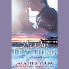 The One Real Thing: The Harts Boardwalk Series Audiobook, by Samantha Young