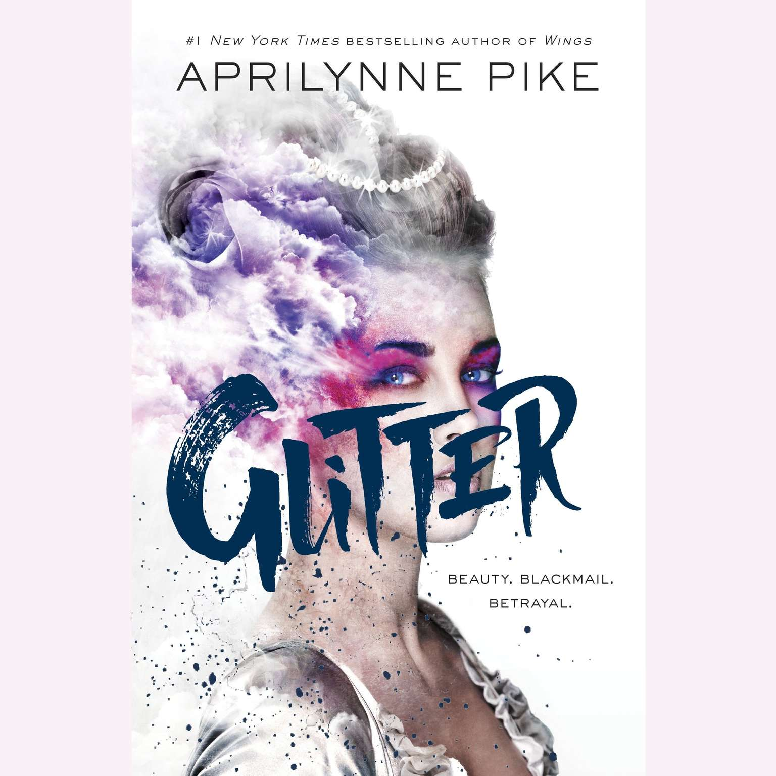 Printable Glitter Audiobook Cover Art