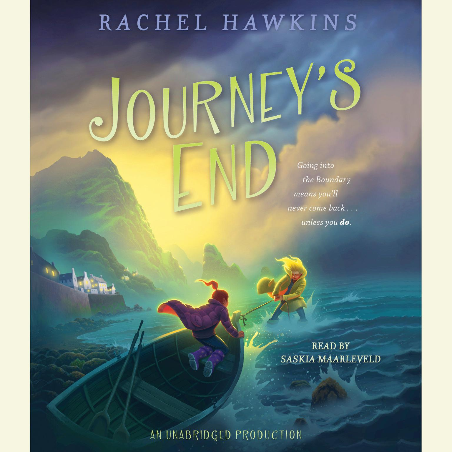 Printable Journey's End Audiobook Cover Art