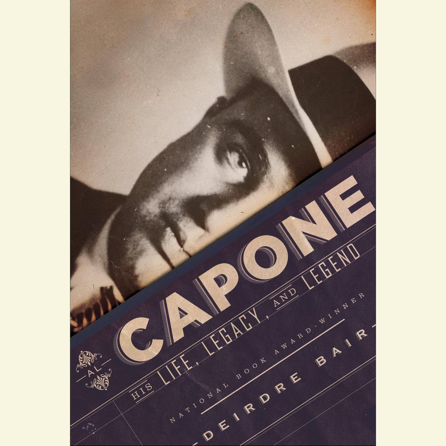 Printable Al Capone: His Life, Legacy, and Legend Audiobook Cover Art