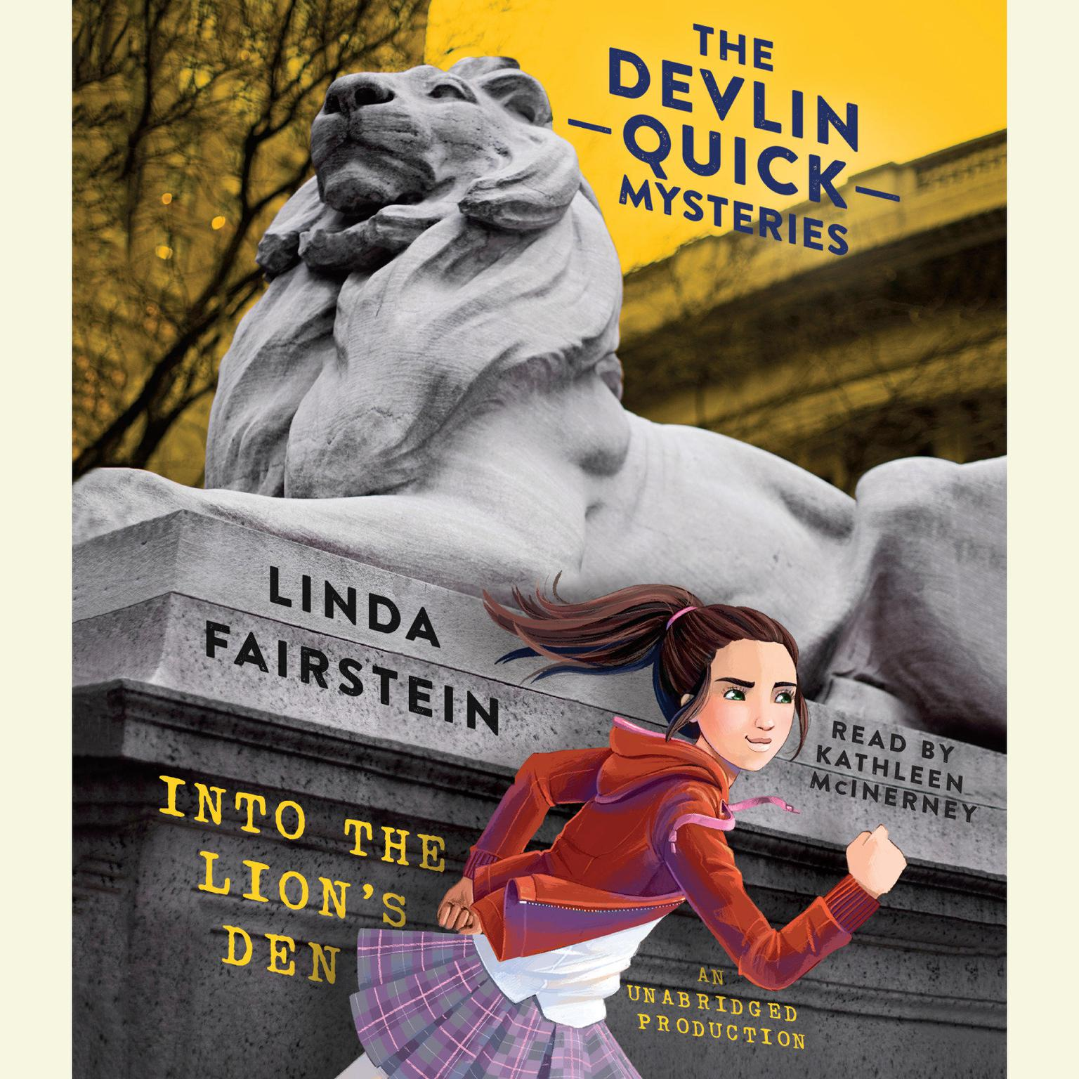 Printable Into the Lion's Den Audiobook Cover Art