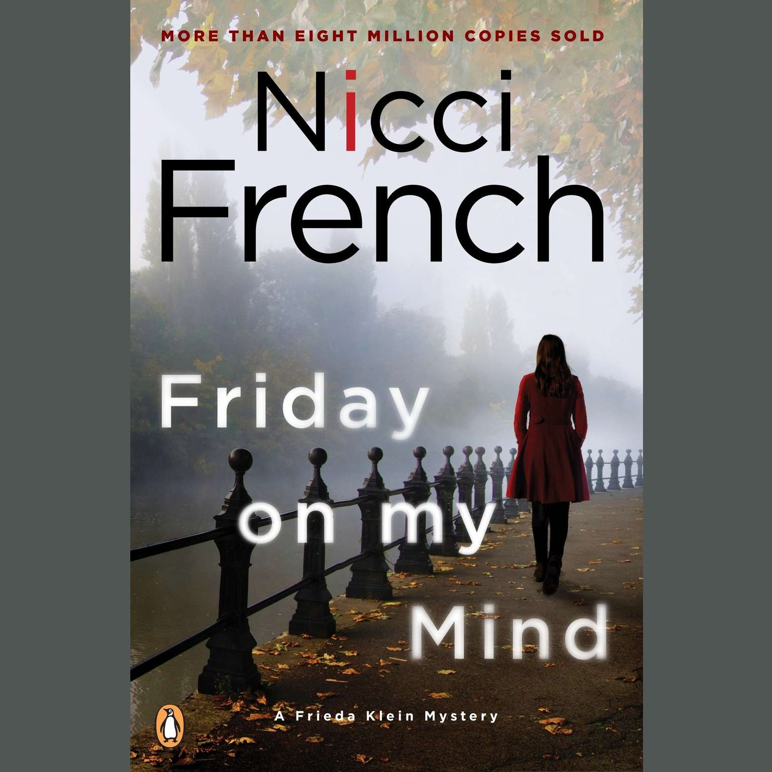 Printable Friday on My Mind: A Frieda Klein Mystery Audiobook Cover Art
