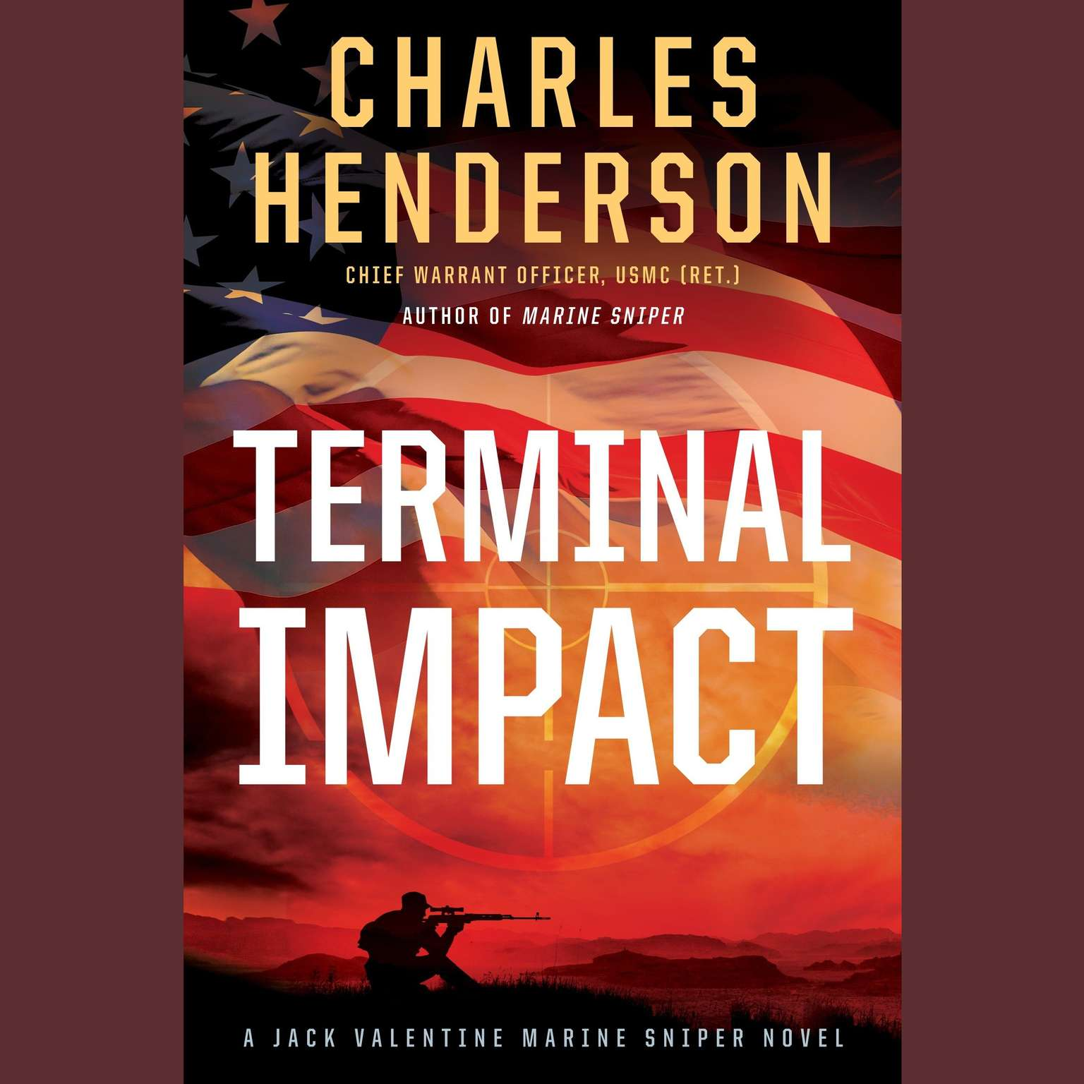 Printable Terminal Impact: A Marine Sniper Novel Audiobook Cover Art
