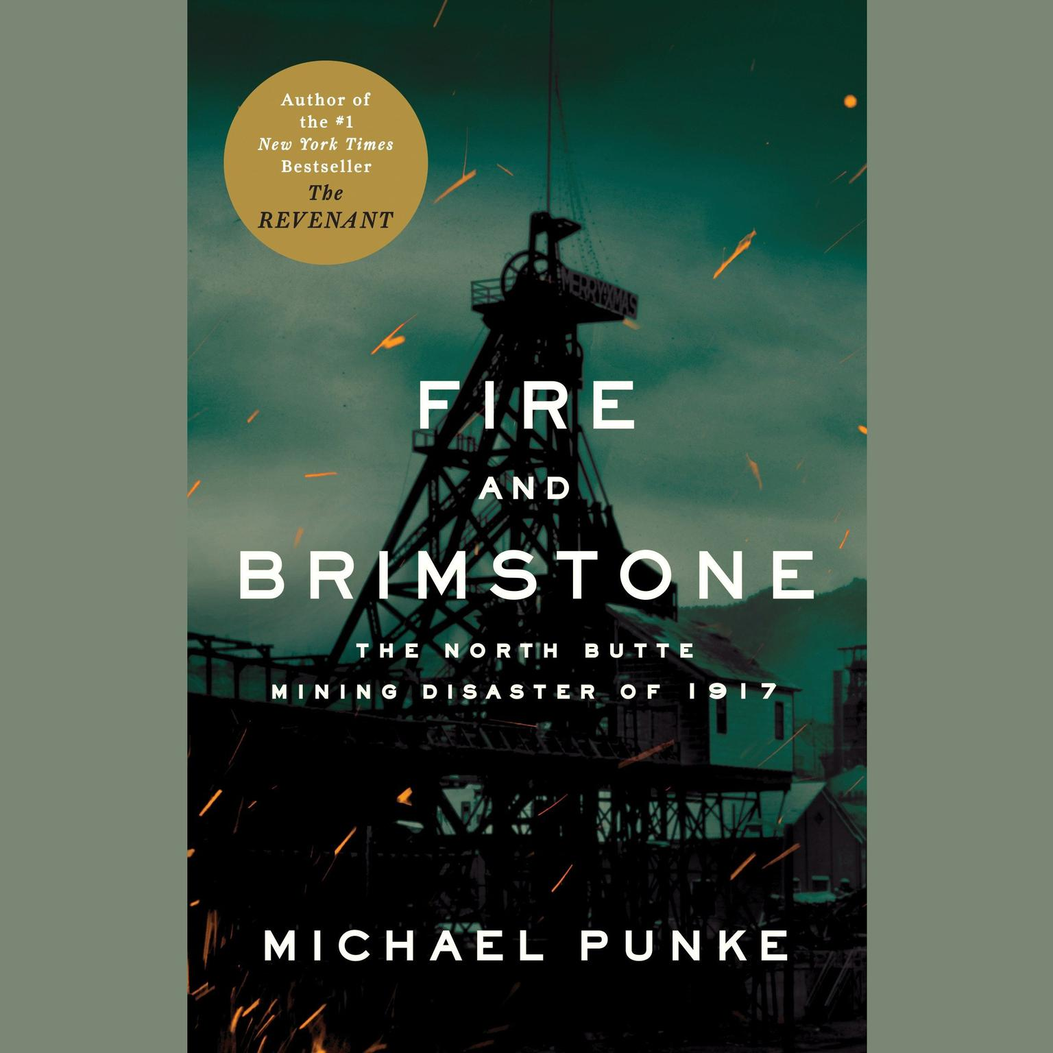 Printable Fire and Brimstone: The North Butte Mining Disaster of 1917 Audiobook Cover Art