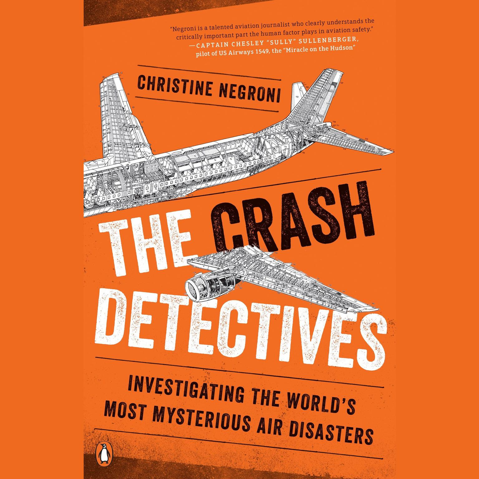 Printable The Crash Detectives: Investigating the World's Most Mysterious Air Disasters Audiobook Cover Art