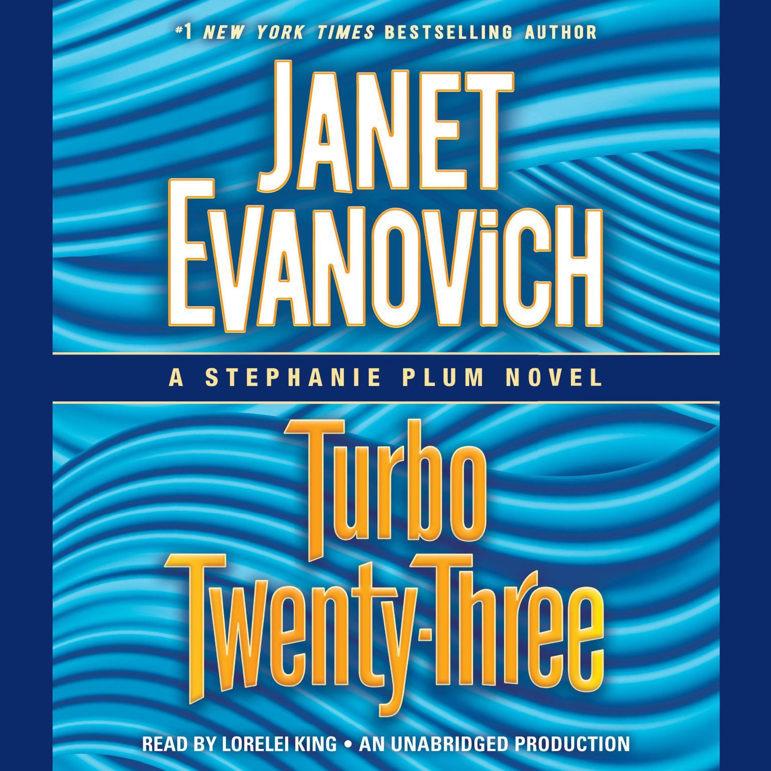 Printable Turbo Twenty-Three Audiobook Cover Art