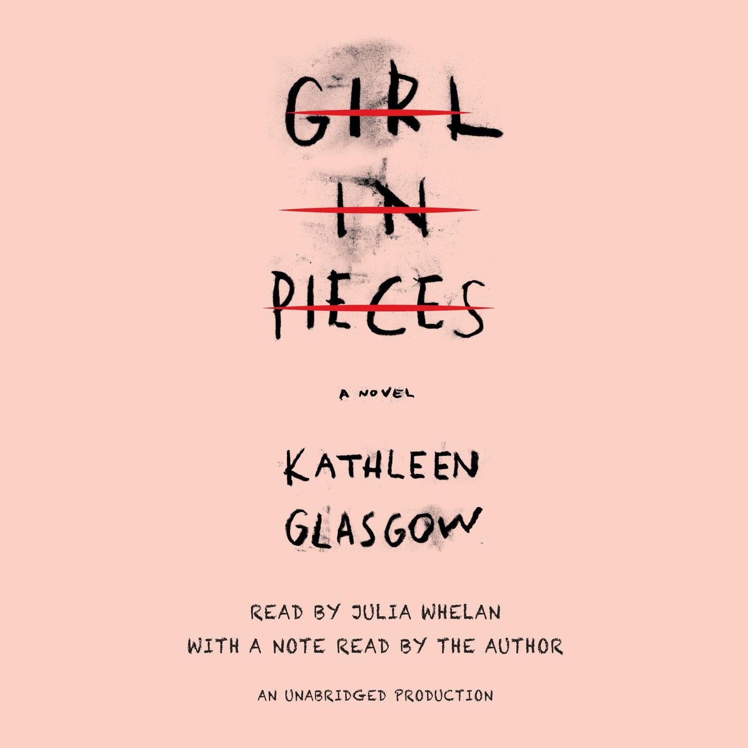 Printable Girl in Pieces Audiobook Cover Art