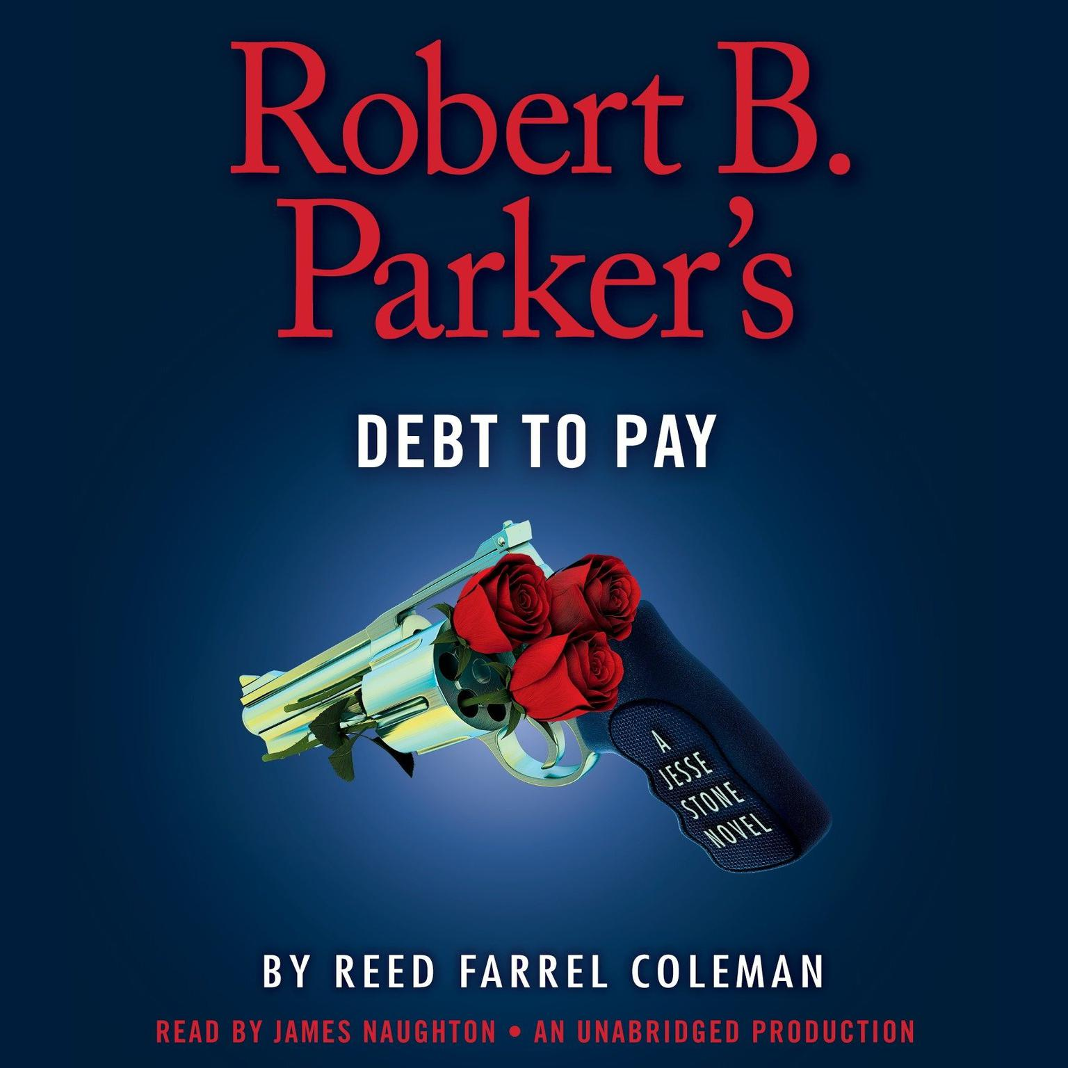 Printable Robert B. Parker's Debt to Pay Audiobook Cover Art