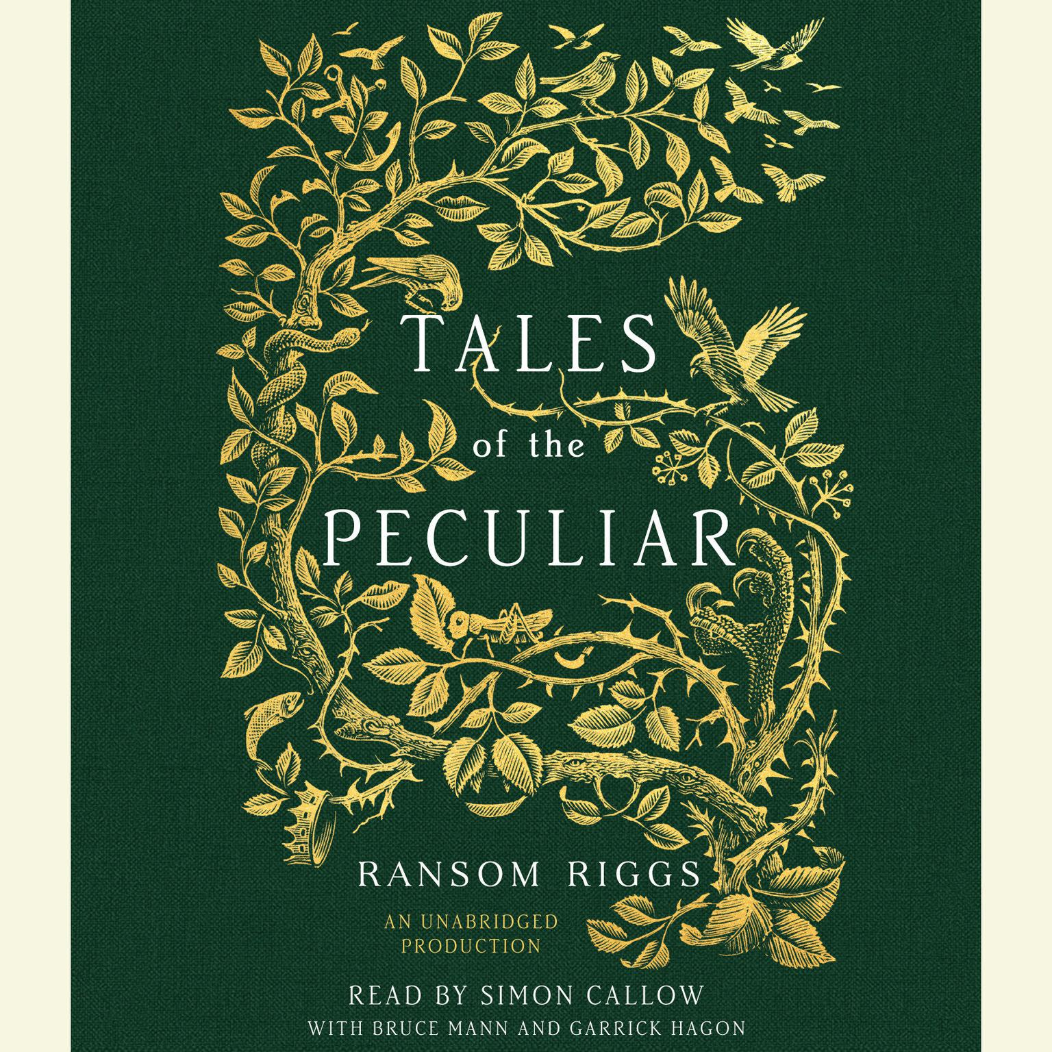 Printable Tales of the Peculiar Audiobook Cover Art