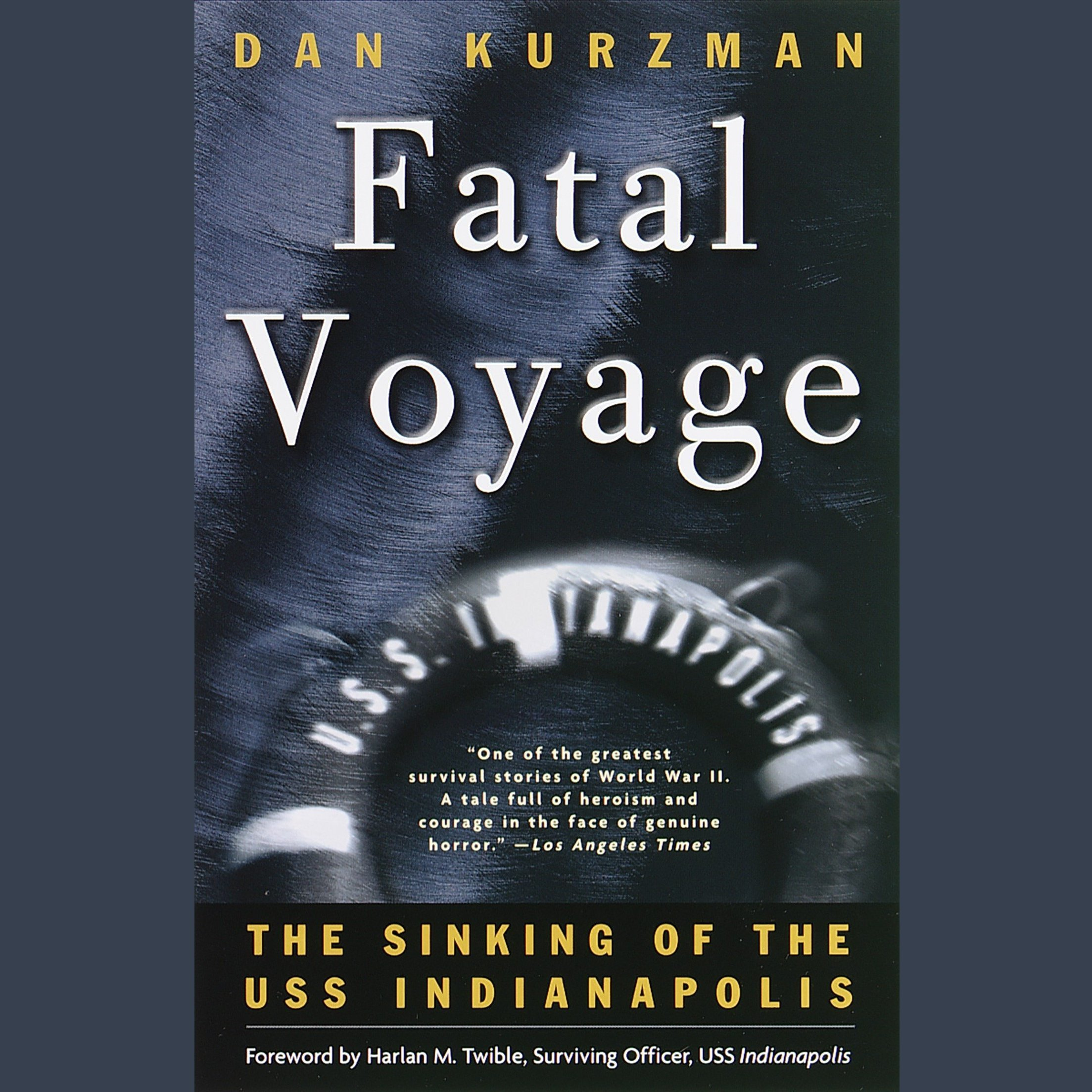 Printable Fatal Voyage: The Sinking of the USS Indianapolis Audiobook Cover Art