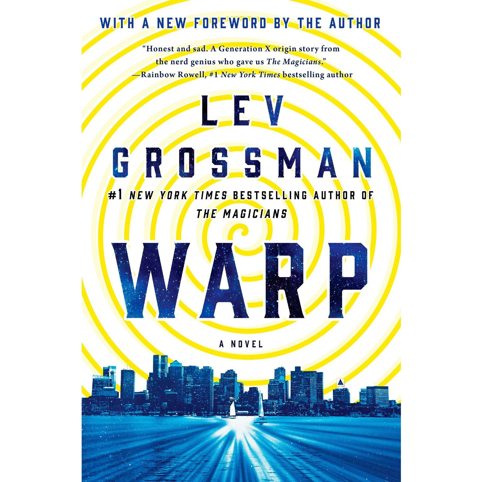 Printable Warp Audiobook Cover Art