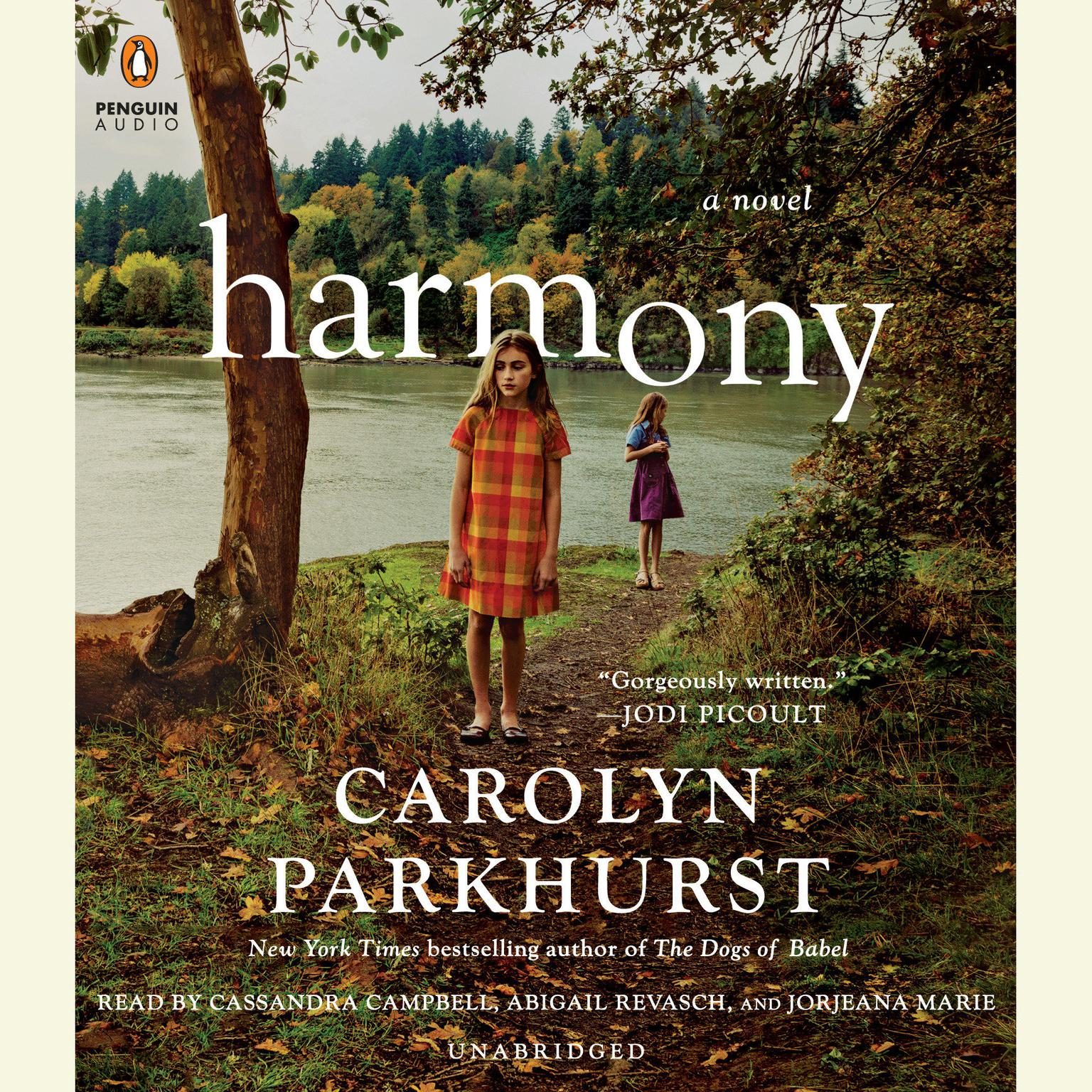 Printable Harmony Audiobook Cover Art