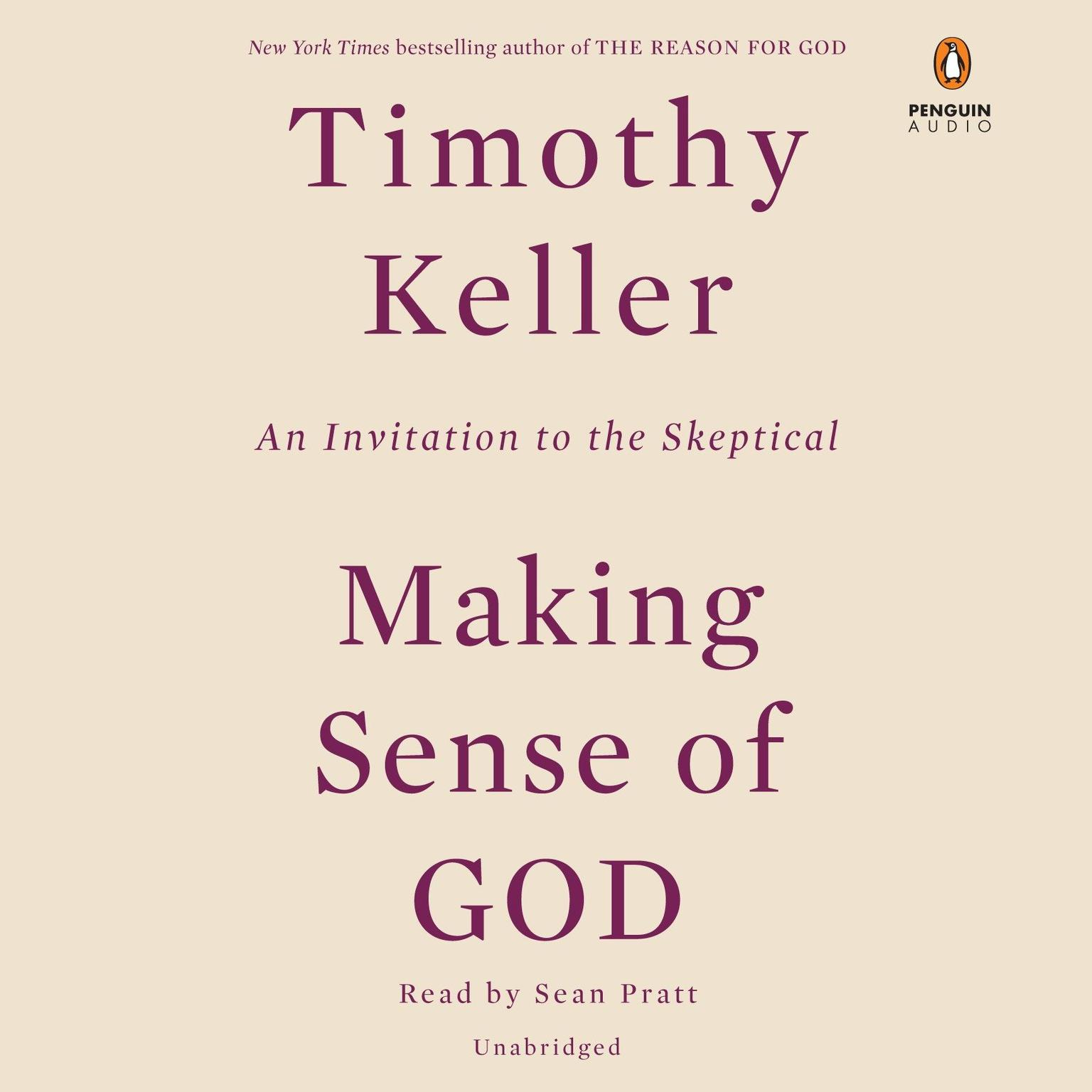 Printable Making Sense of God: An Invitation to the Skeptical Audiobook Cover Art