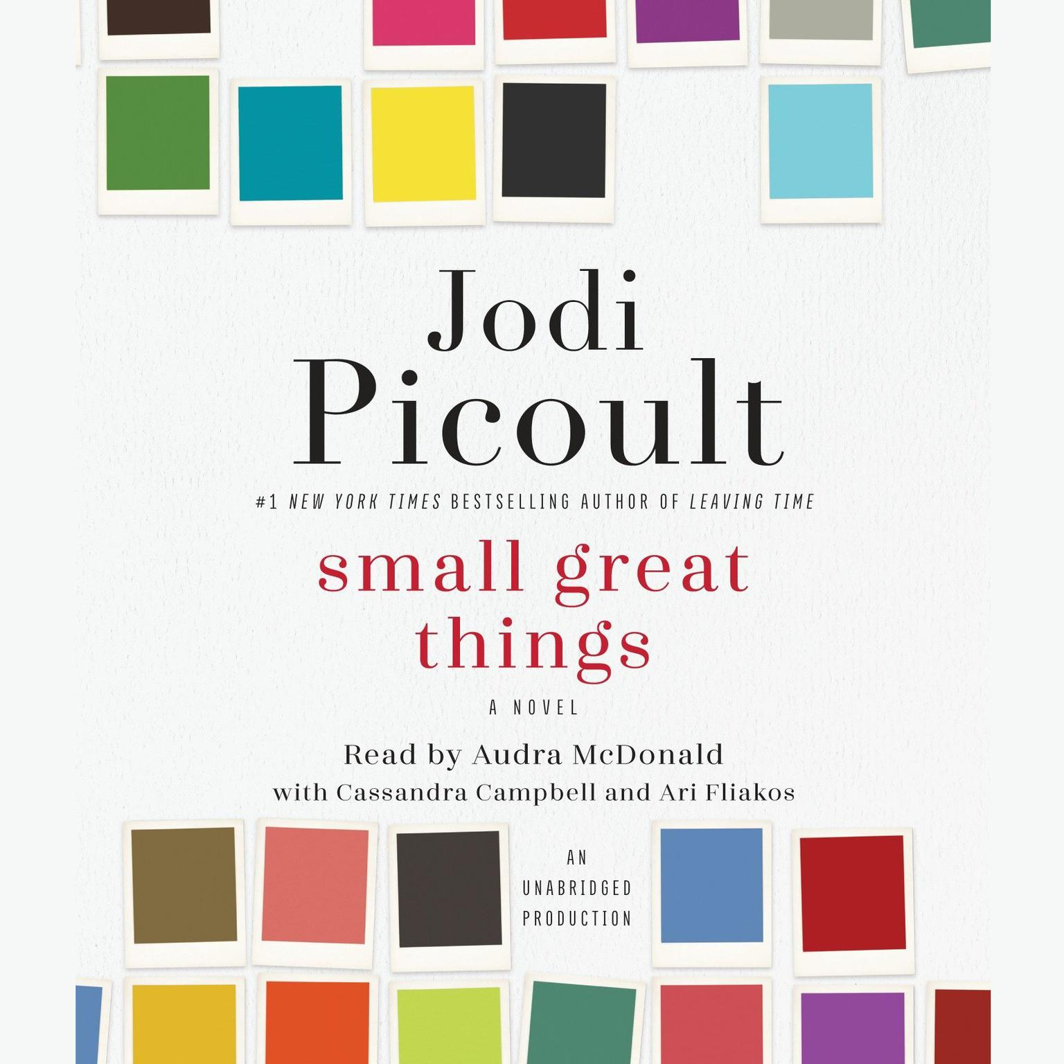 Printable Small Great Things Audiobook Cover Art