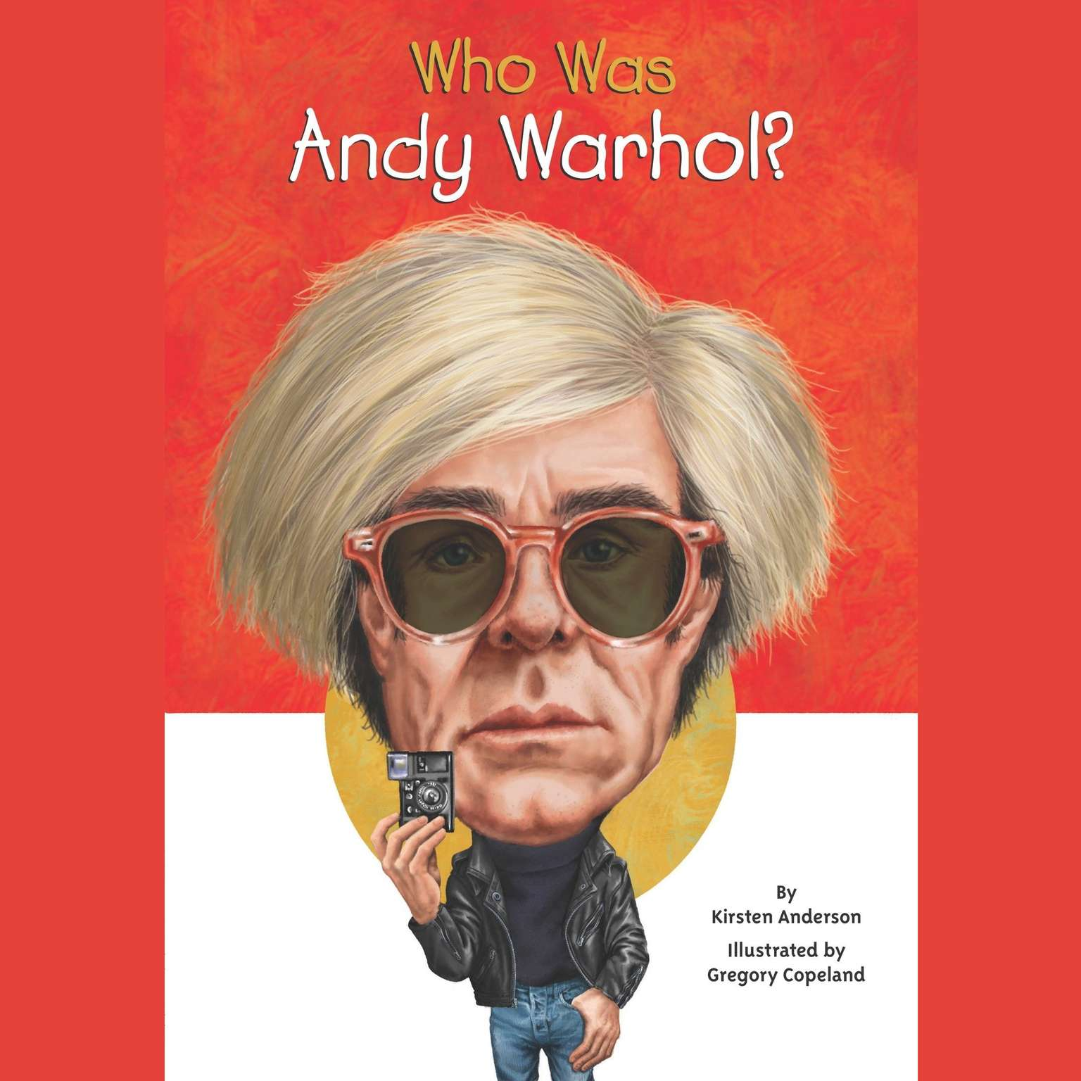 Printable Who Was Andy Warhol? Audiobook Cover Art
