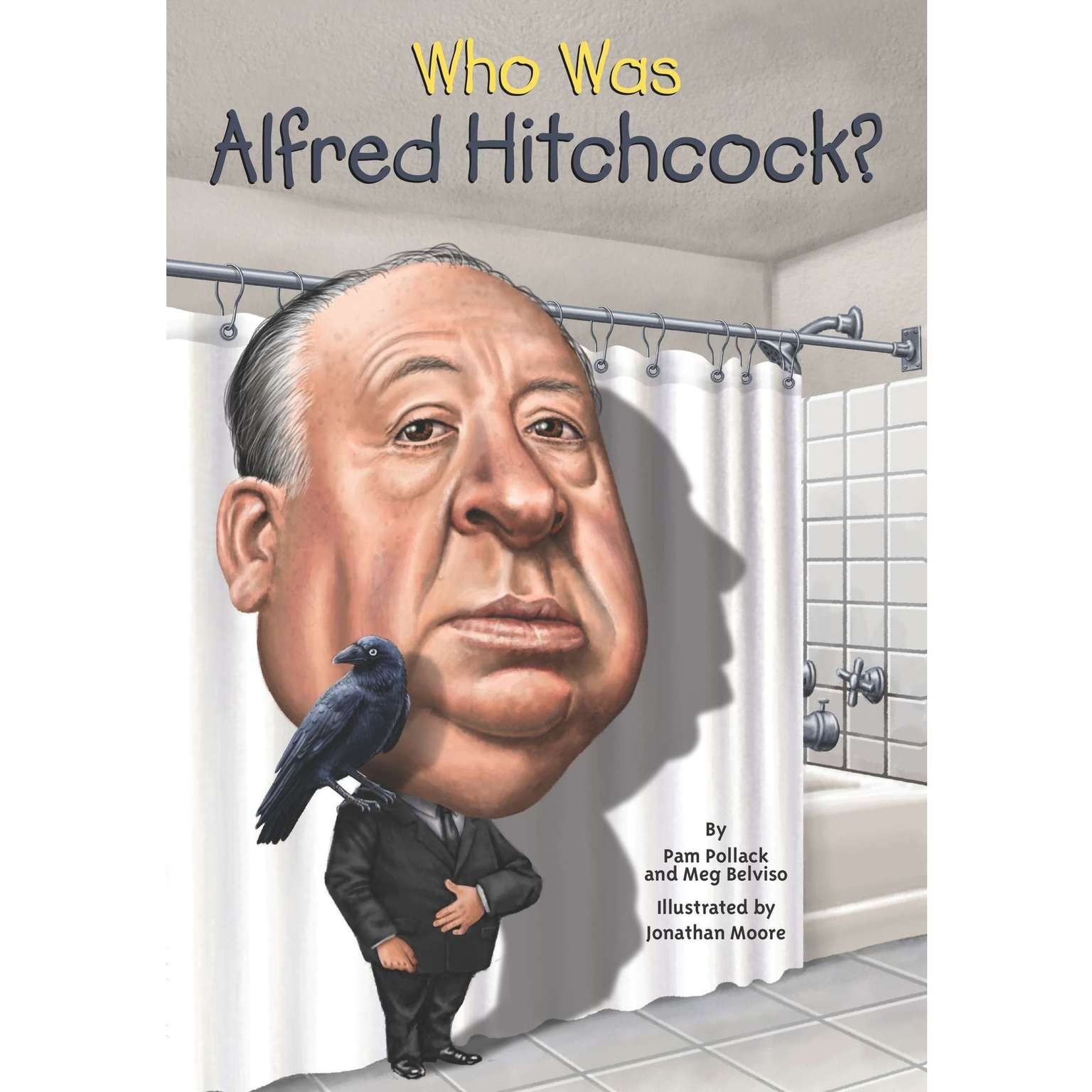 Printable Who Was Alfred Hitchcock? Audiobook Cover Art