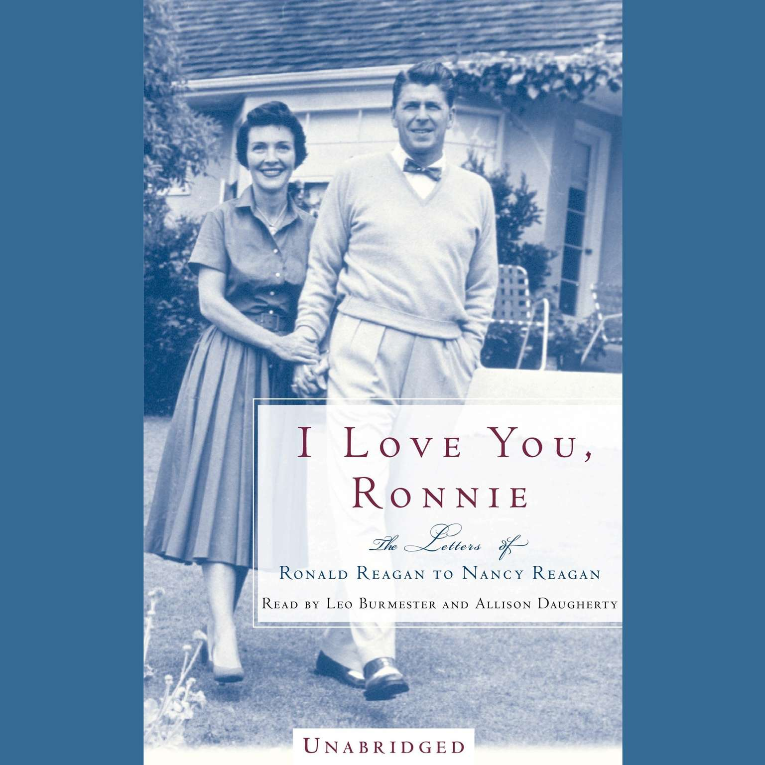 Printable I Love You, Ronnie: The Letters of Ronald Reagan to Nancy Reagan Audiobook Cover Art