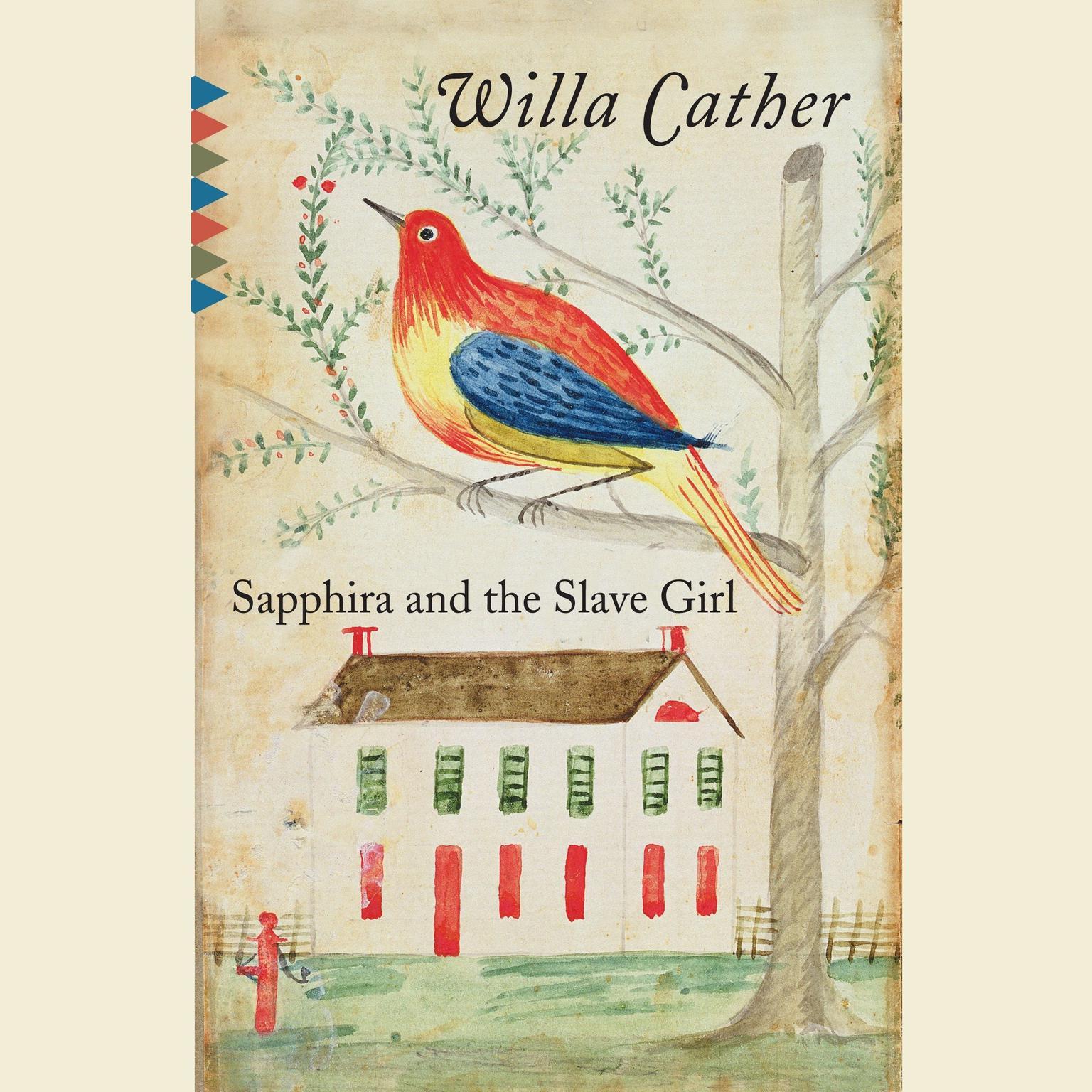 Printable Sapphira and the Slave Girl Audiobook Cover Art