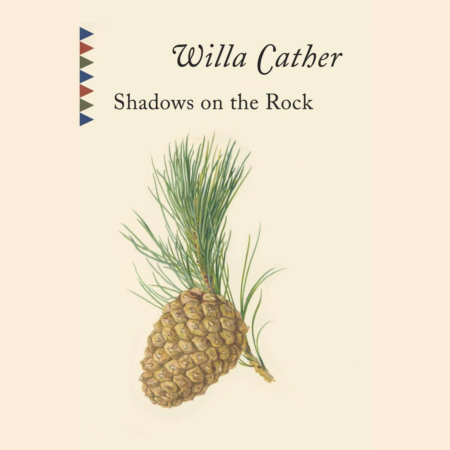 Printable Shadows on the Rock Audiobook Cover Art
